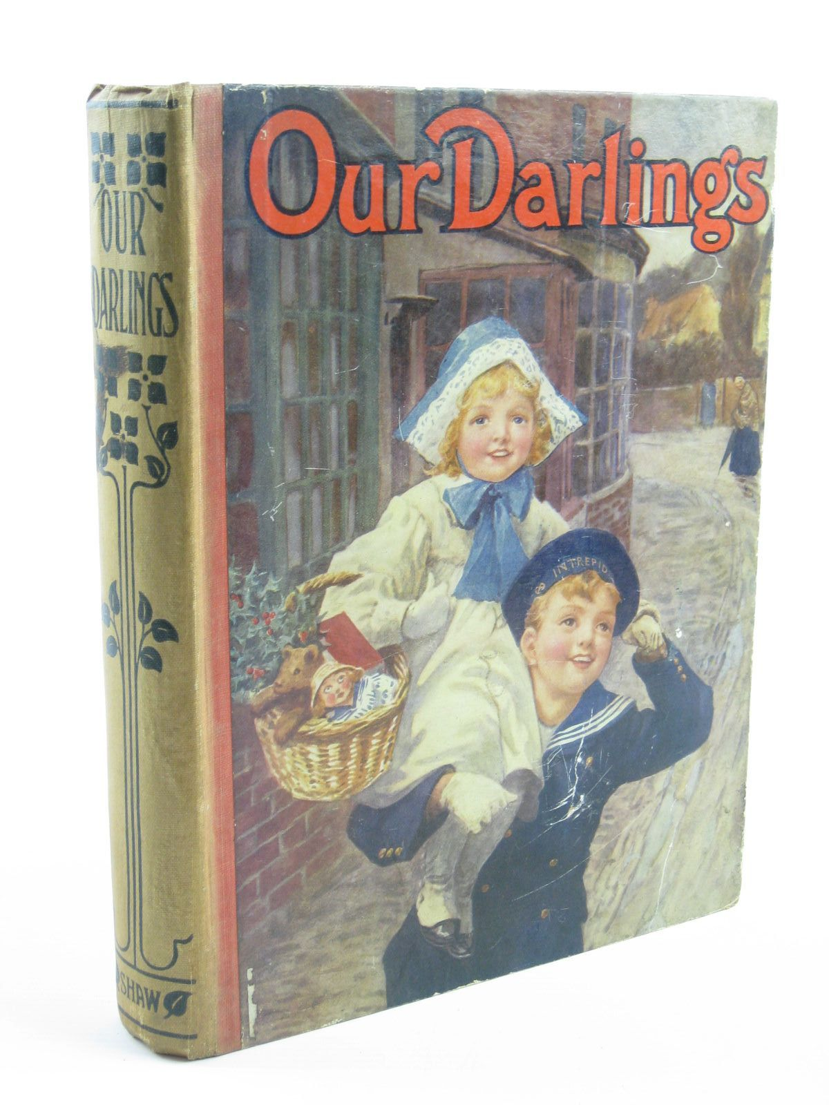 Photo of OUR DARLINGS written by Branthwaite, Esther<br />McLaren, Duncan<br />Anstey, F.<br />et al,  illustrated by Aris, Ernest A.<br />Wain, Louis<br />et al.,  published by John F. Shaw & Co Ltd. (STOCK CODE: 1310566)  for sale by Stella & Rose's Books