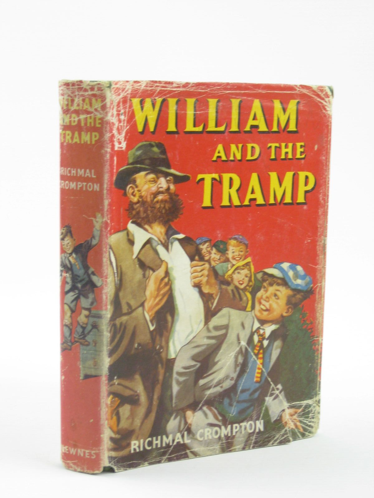 Photo of WILLIAM AND THE TRAMP written by Crompton, Richmal illustrated by Henry, Thomas published by George Newnes Ltd. (STOCK CODE: 1310724)  for sale by Stella & Rose's Books