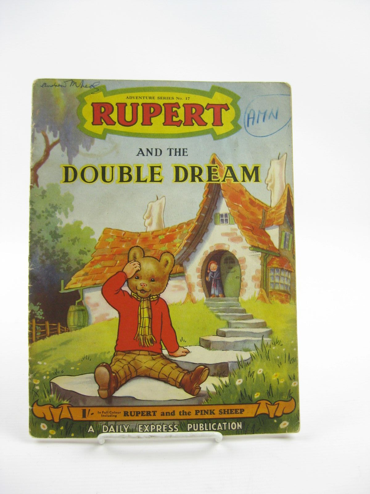 Photo of RUPERT ADVENTURE SERIES No. 17 - RUPERT AND THE DOUBLE DREAM written by Bestall, Alfred published by Daily Express (STOCK CODE: 1310796)  for sale by Stella & Rose's Books