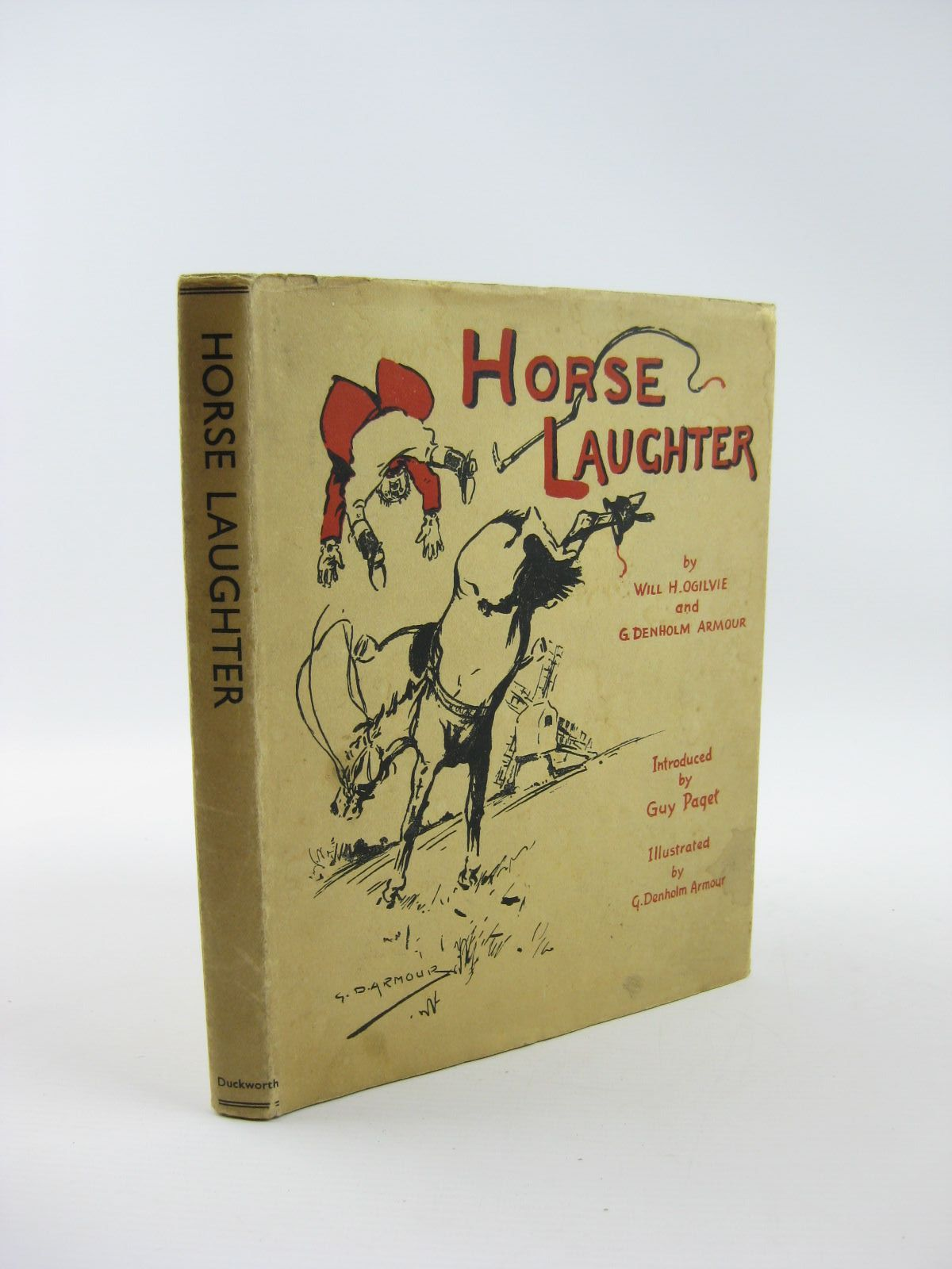 Photo of HORSE LAUGHTER written by Ogilvie, Will H.<br />Armour, George Denholm<br />Paget, Guy illustrated by Armour, G. Denholm published by Duckworth (STOCK CODE: 1310801)  for sale by Stella & Rose's Books