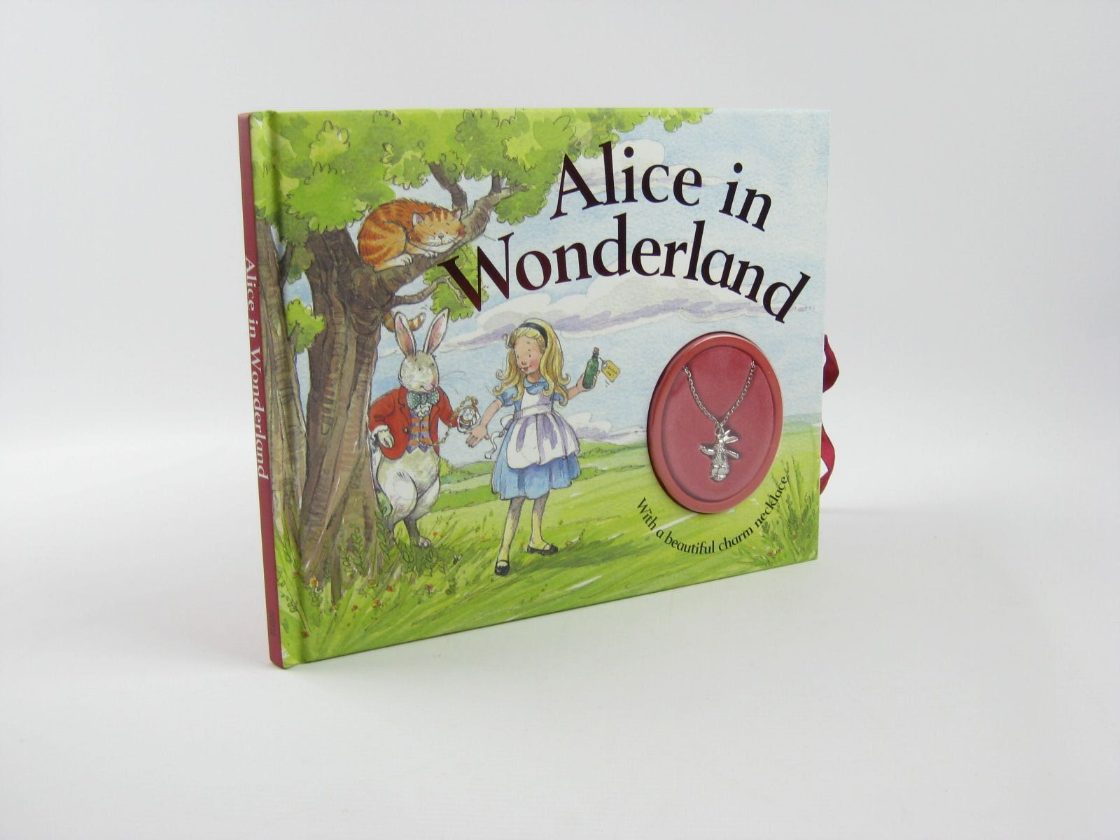 Photo of ALICE IN WONDERLAND WITH A BEAUTIFUL CHARM NECKLACE