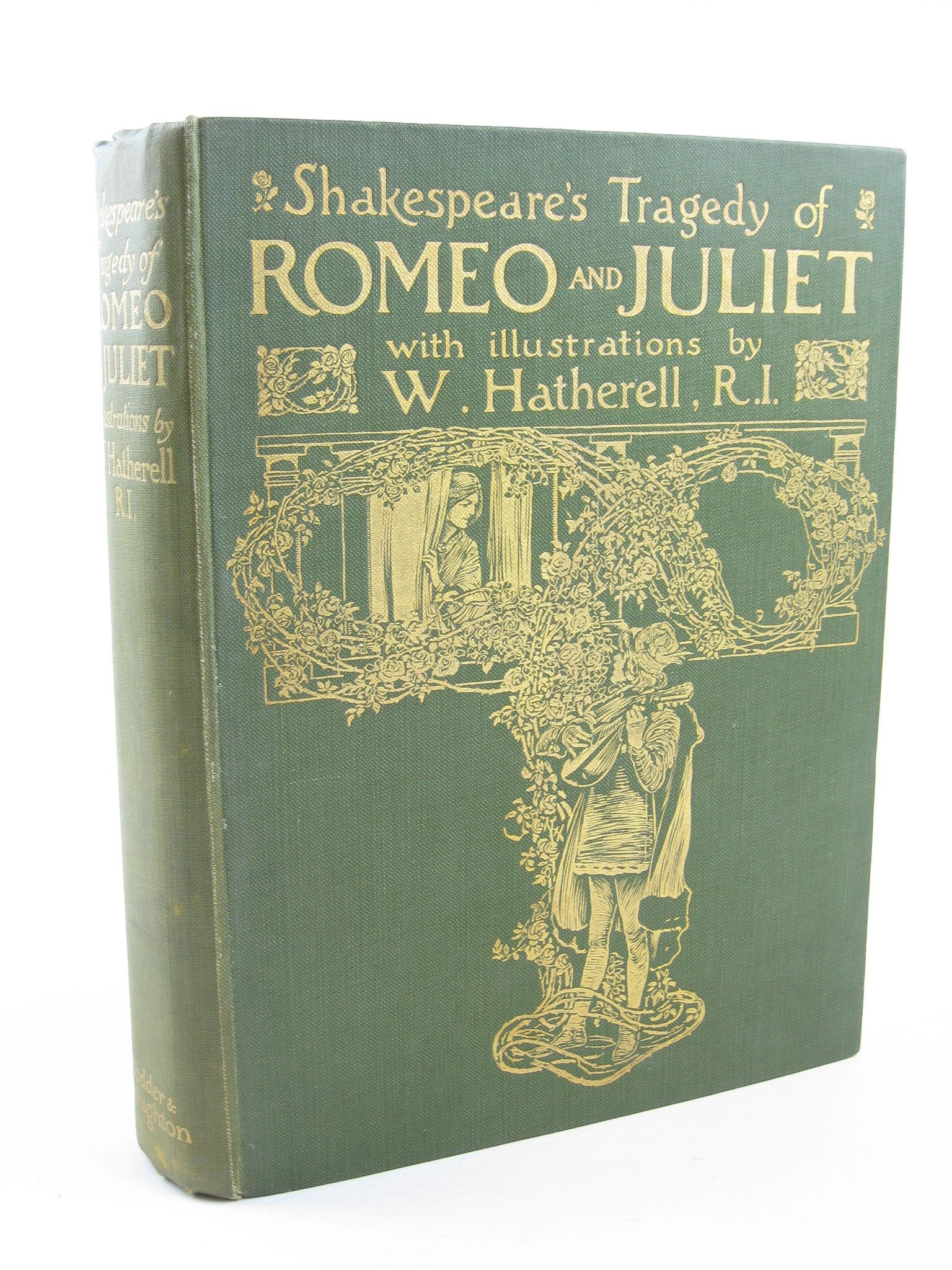 Photo of SHAKESPEARE'S TRAGEDY OF ROMEO AND JULIET