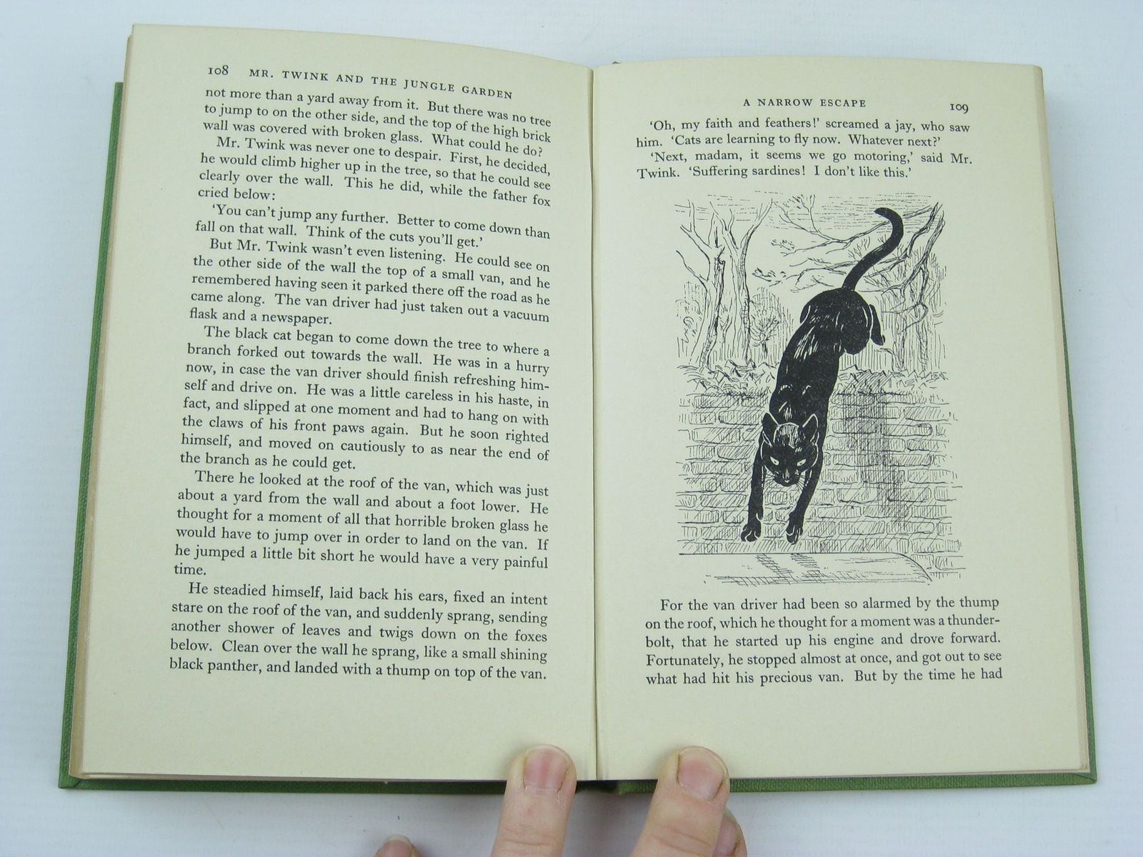 Photo of MR. TWINK AND THE JUNGLE GARDEN written by Hurt, Freda illustrated by Langley, Nina Scott published by The Epworth Press (STOCK CODE: 1311027)  for sale by Stella & Rose's Books
