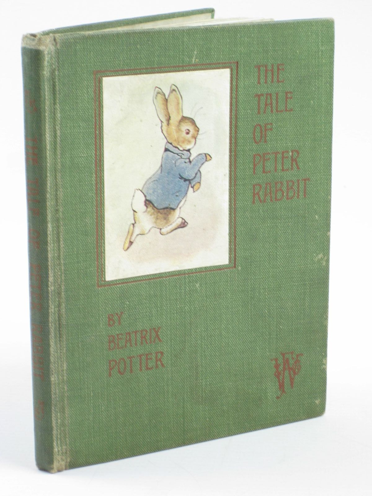 Photo of THE TALE OF PETER RABBIT written by Potter, Beatrix illustrated by Potter, Beatrix published by Frederick Warne & Co. (STOCK CODE: 1311050)  for sale by Stella & Rose's Books