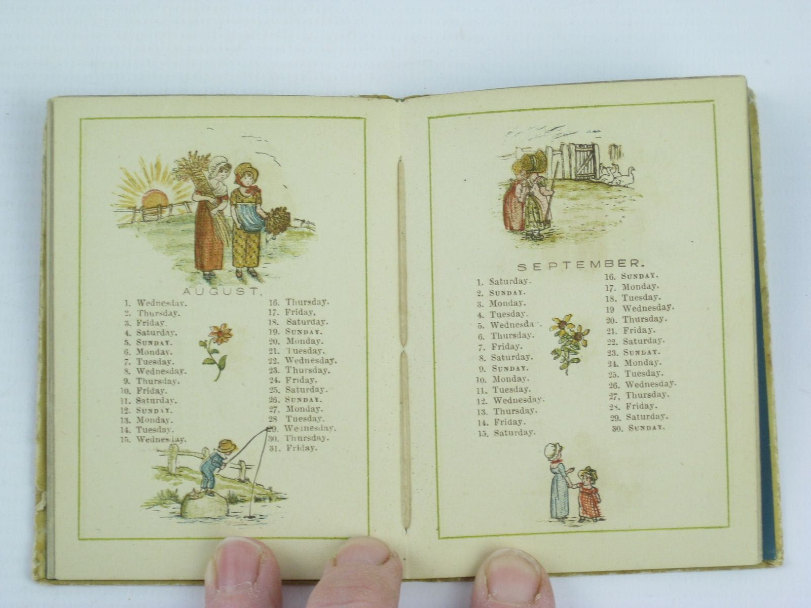 Photo of ALMANACK FOR 1883 written by Greenaway, Kate illustrated by Greenaway, Kate published by George Routledge & Sons (STOCK CODE: 1311052)  for sale by Stella & Rose's Books