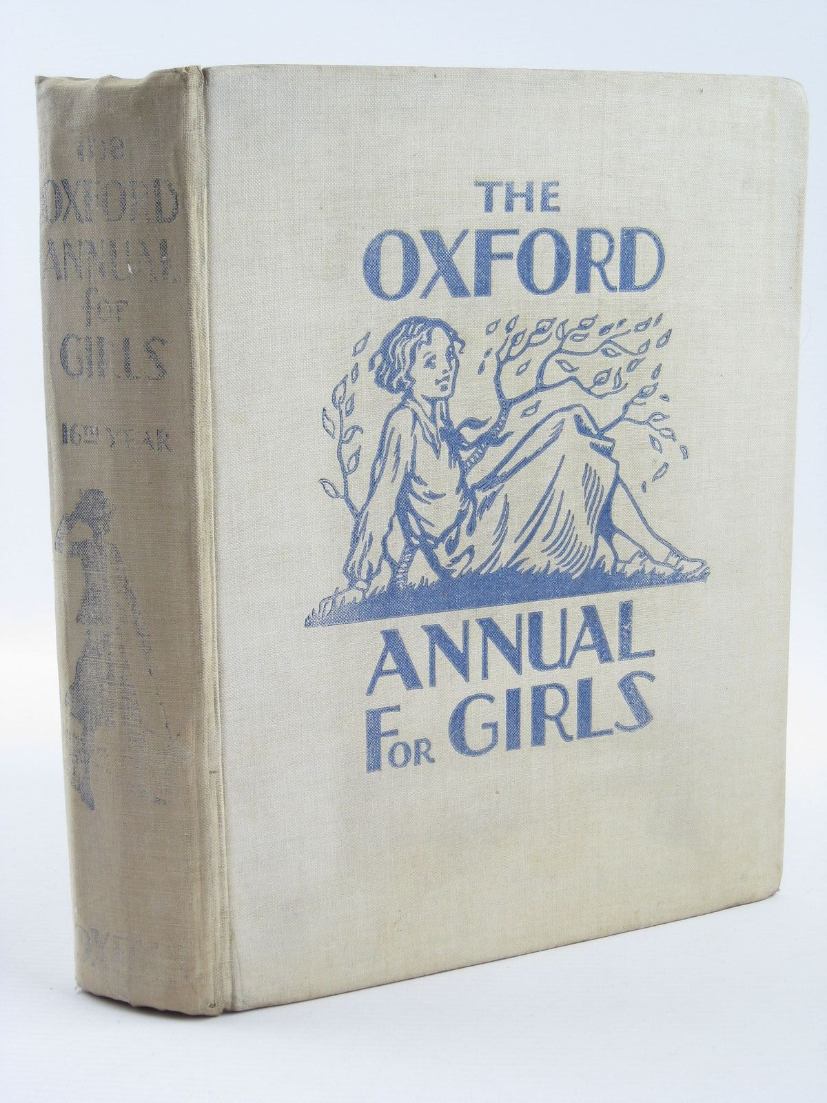 Photo of THE OXFORD ANNUAL FOR GIRLS 16TH YEAR