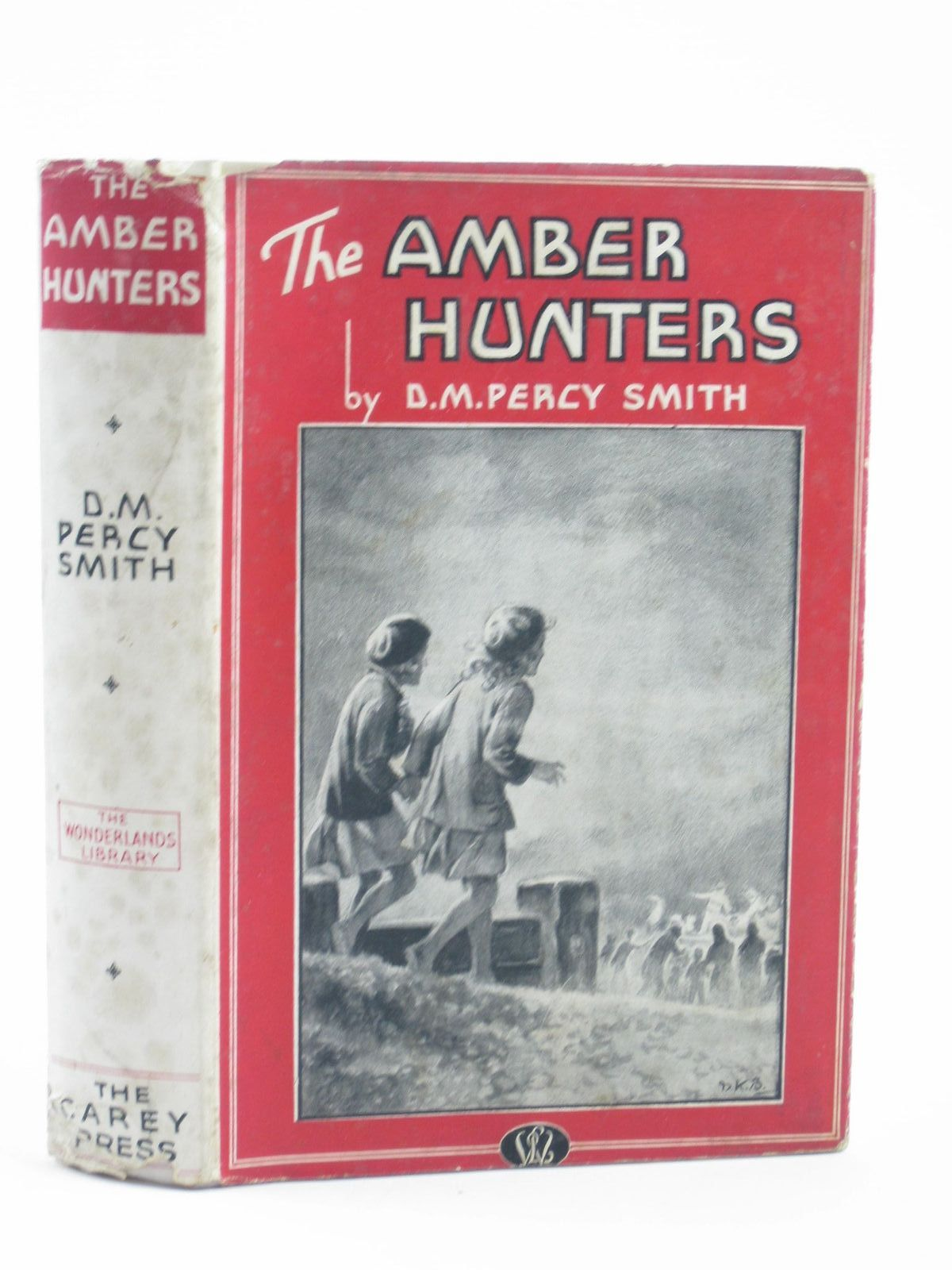 Photo of THE AMBER HUNTERS written by Smith, D.M. Percy illustrated by Brisley, Nina K. published by Carey Press (STOCK CODE: 1311143)  for sale by Stella & Rose's Books