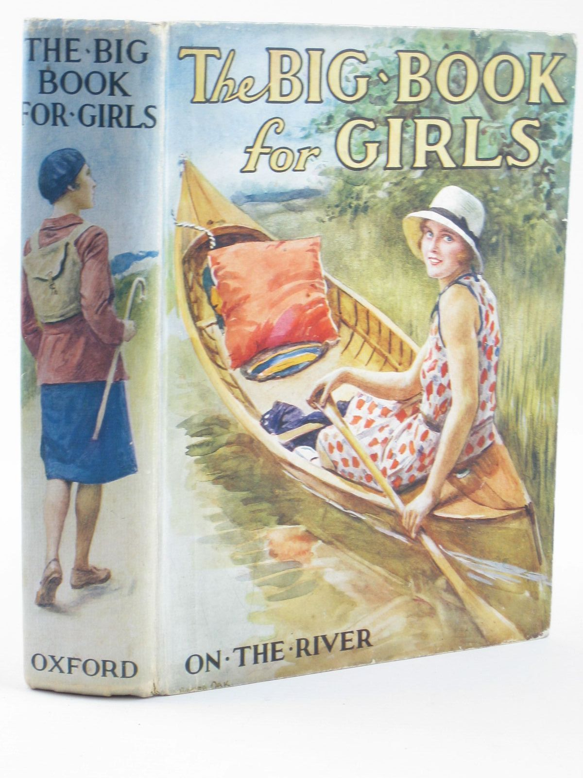 Photo of THE BIG BOOK FOR GIRLS written by Strang, Mrs. Herbert<br />Rutley, C. Bernard<br />Cowper, E.E.<br />Chaundler, Christine<br />et al, illustrated by Reeve, Mary S.<br />Anderson, Anne<br />et al., published by Humphrey Milford, Oxford University Press (STOCK CODE: 1311175)  for sale by Stella & Rose's Books