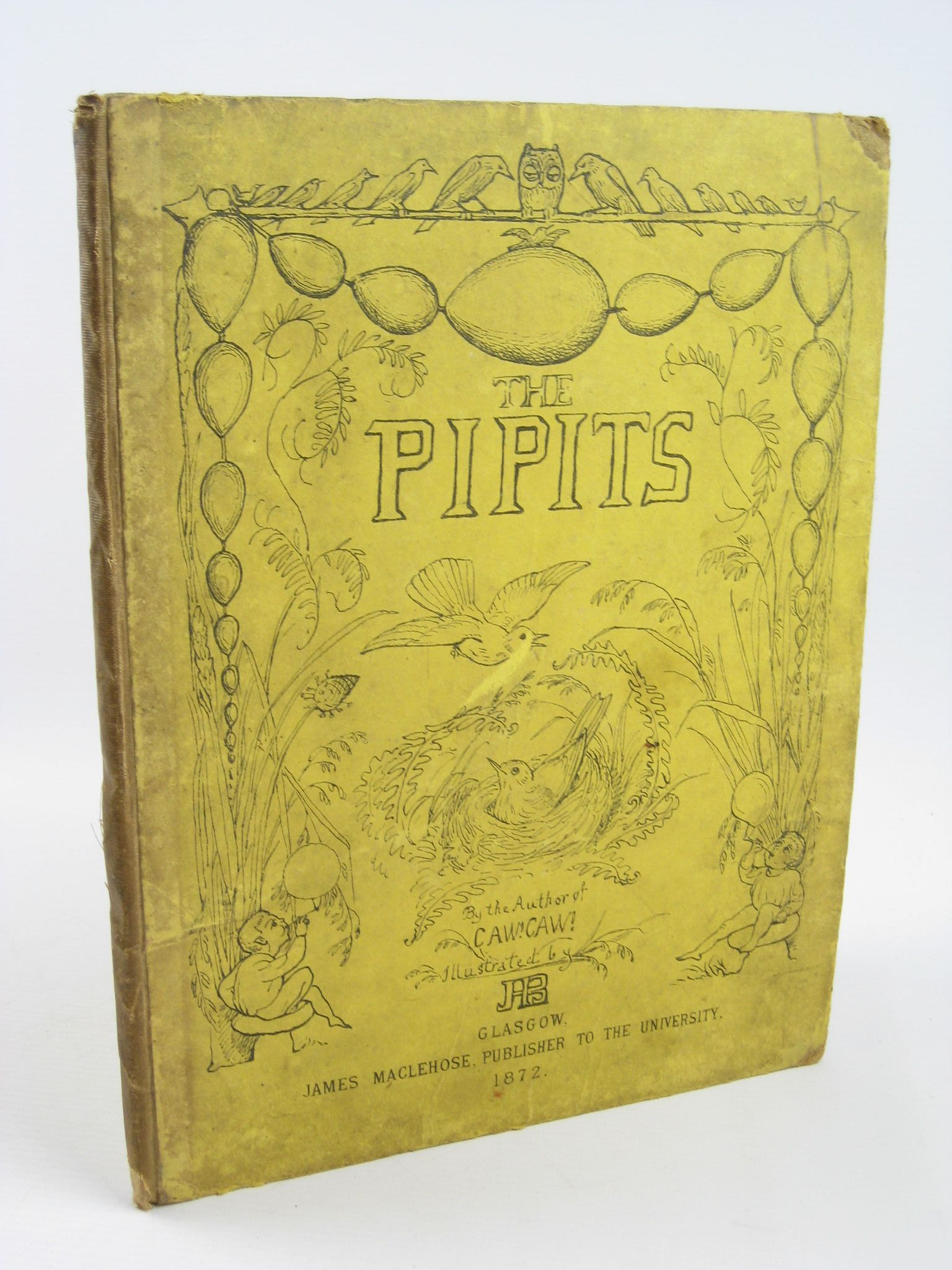 Photo of THE PIPITS written by R.M., illustrated by Blackburn, Jane published by James MacLehose (STOCK CODE: 1311257)  for sale by Stella & Rose's Books