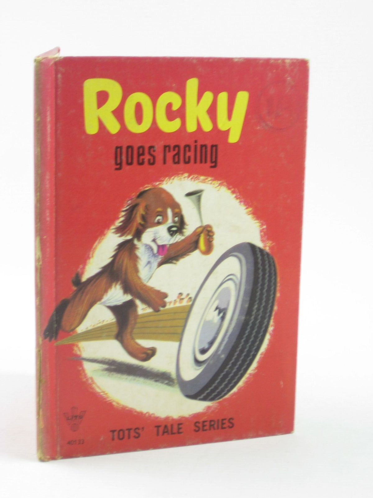 Photo of ROCKY GOES RACING written by Hatchwell, K. illustrated by Raffray, published by Litor Publishers Ltd. (STOCK CODE: 1311291)  for sale by Stella & Rose's Books