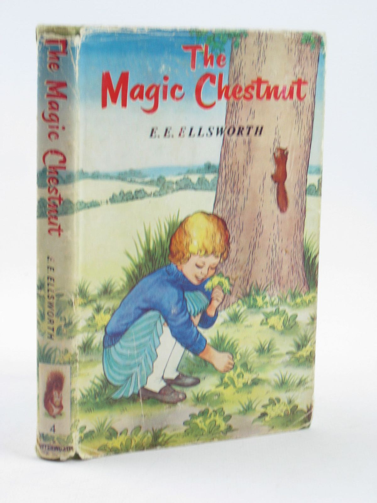 Photo of THE MAGIC CHESTNUT written by Ellsworth, E.E. illustrated by Boswell, Hilda published by Lutterworth Press (STOCK CODE: 1311293)  for sale by Stella & Rose's Books