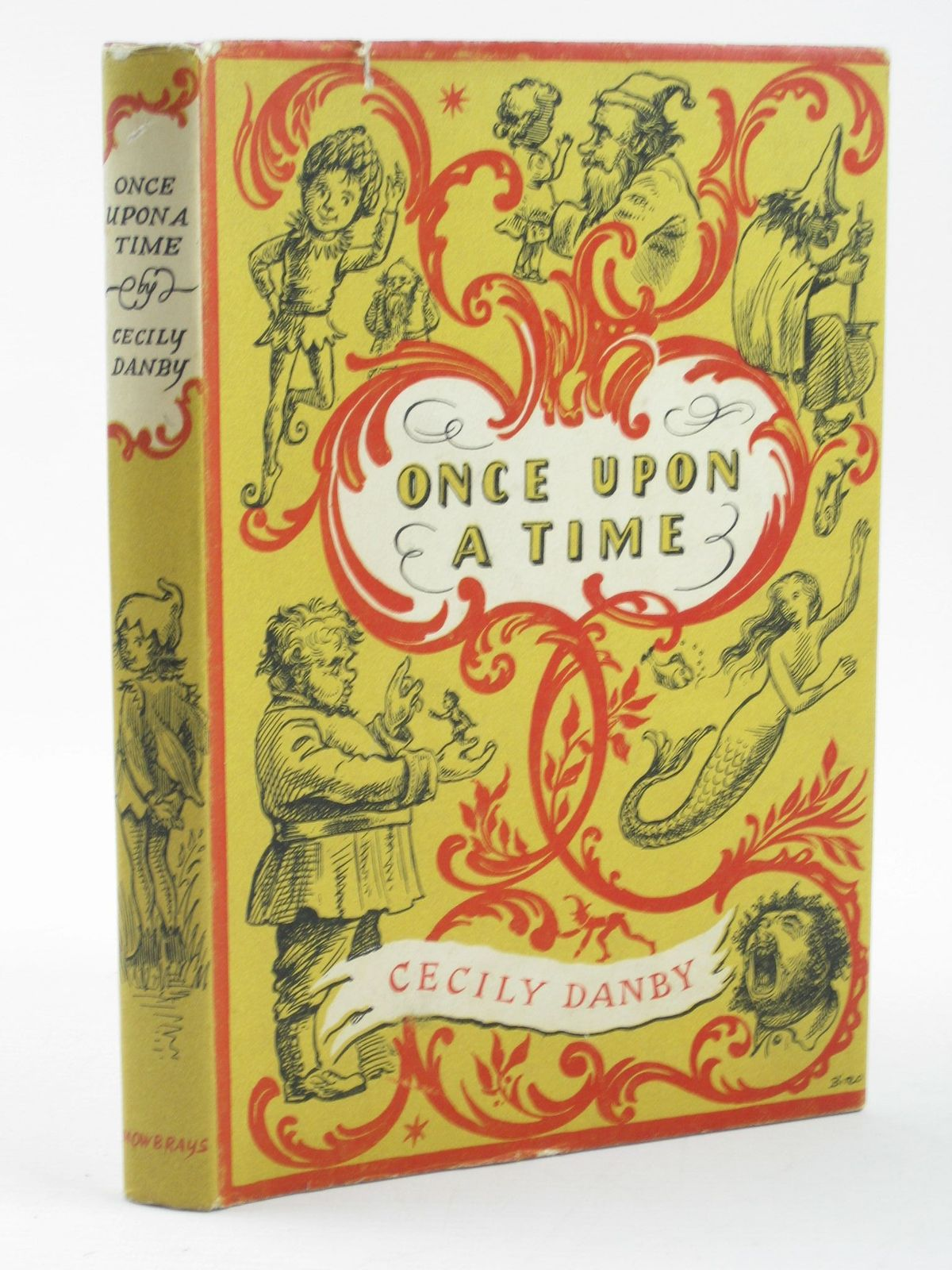 Photo of ONCE UPON A TIME written by Danby, Cecily illustrated by Biro, B. published by A.R.Mowbray & Co. Ltd (STOCK CODE: 1311294)  for sale by Stella & Rose's Books