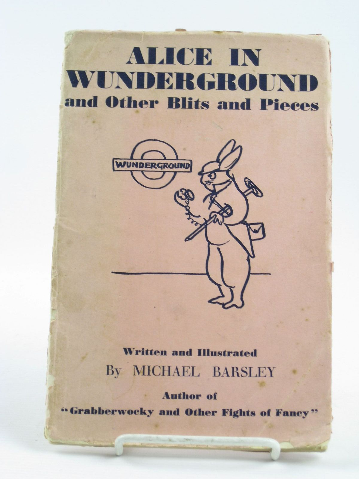 Photo of ALICE IN WUNDERGROUND AND OTHER BLITS AND PIECES written by Barsley, Michael illustrated by Barsley, Michael published by John Murray (STOCK CODE: 1311300)  for sale by Stella & Rose's Books