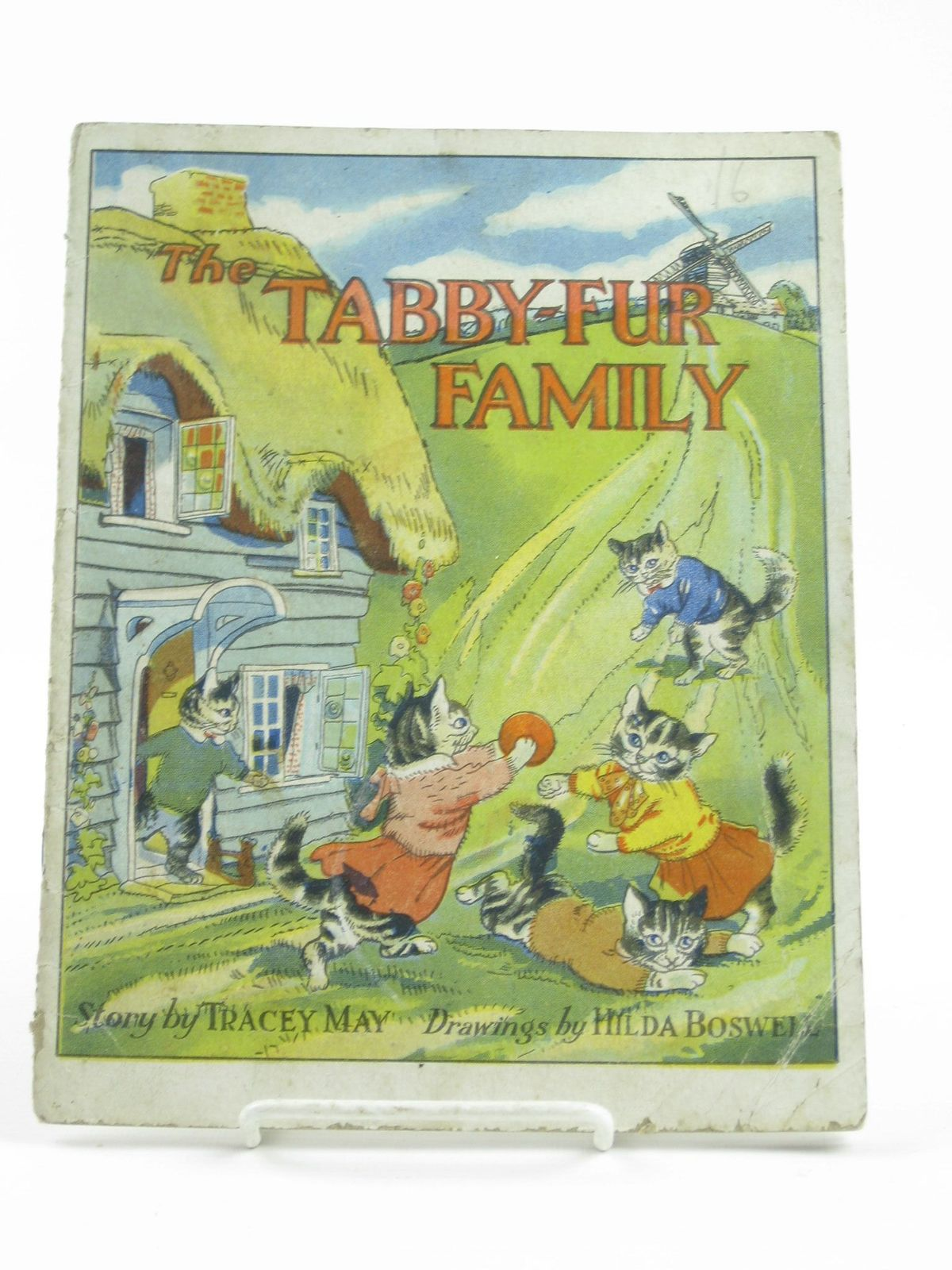 Photo of THE TABBY-FUR FAMILY written by May, Tracey illustrated by Boswell, Hilda published by R.A. Publishing Co. Ltd. (STOCK CODE: 1311337)  for sale by Stella & Rose's Books