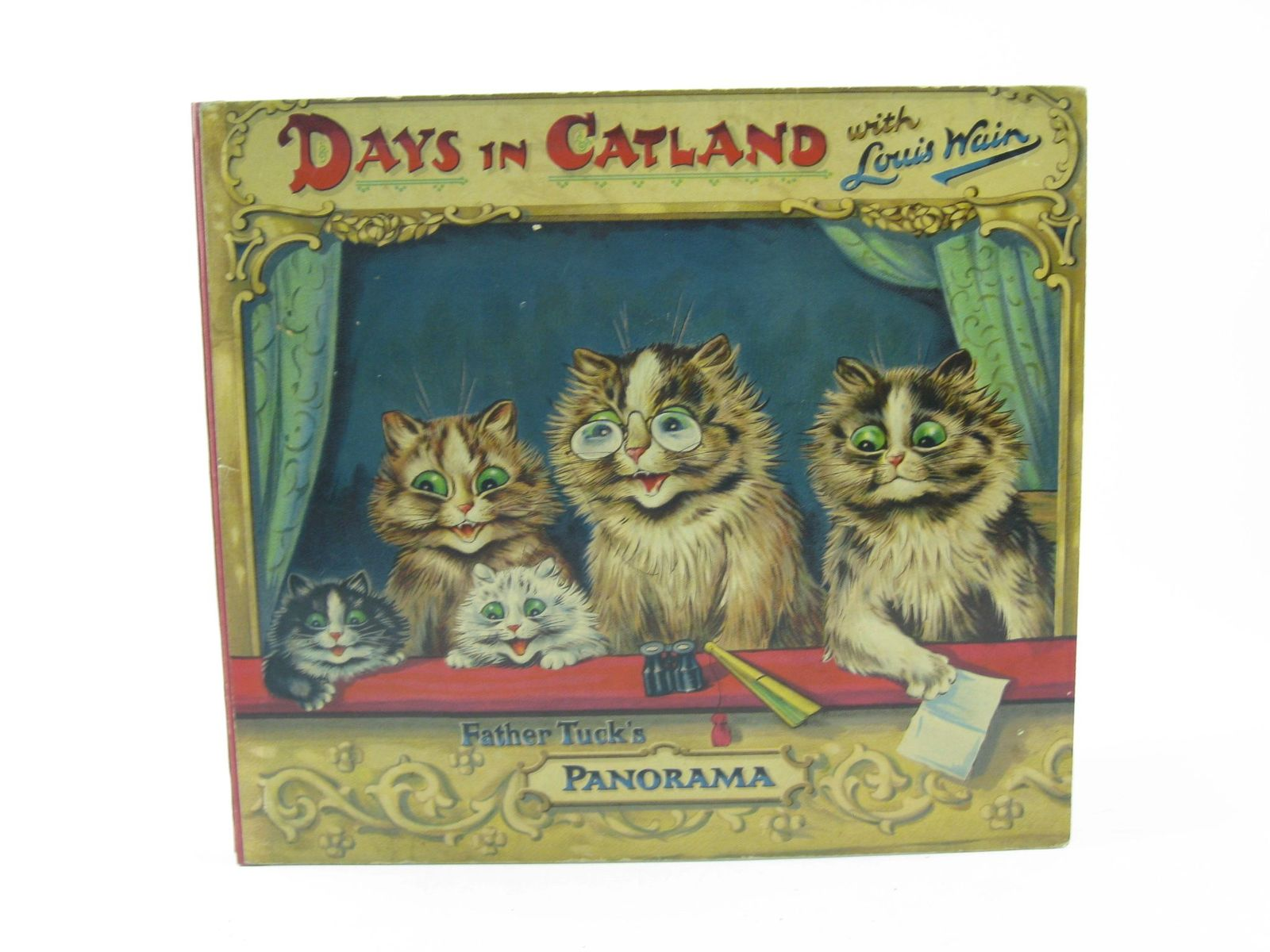 Photo of DAYS IN CATLAND written by Burnaby, Arthur illustrated by Wain, Louis published by Raphael Tuck & Sons Ltd. (STOCK CODE: 1311382)  for sale by Stella & Rose's Books