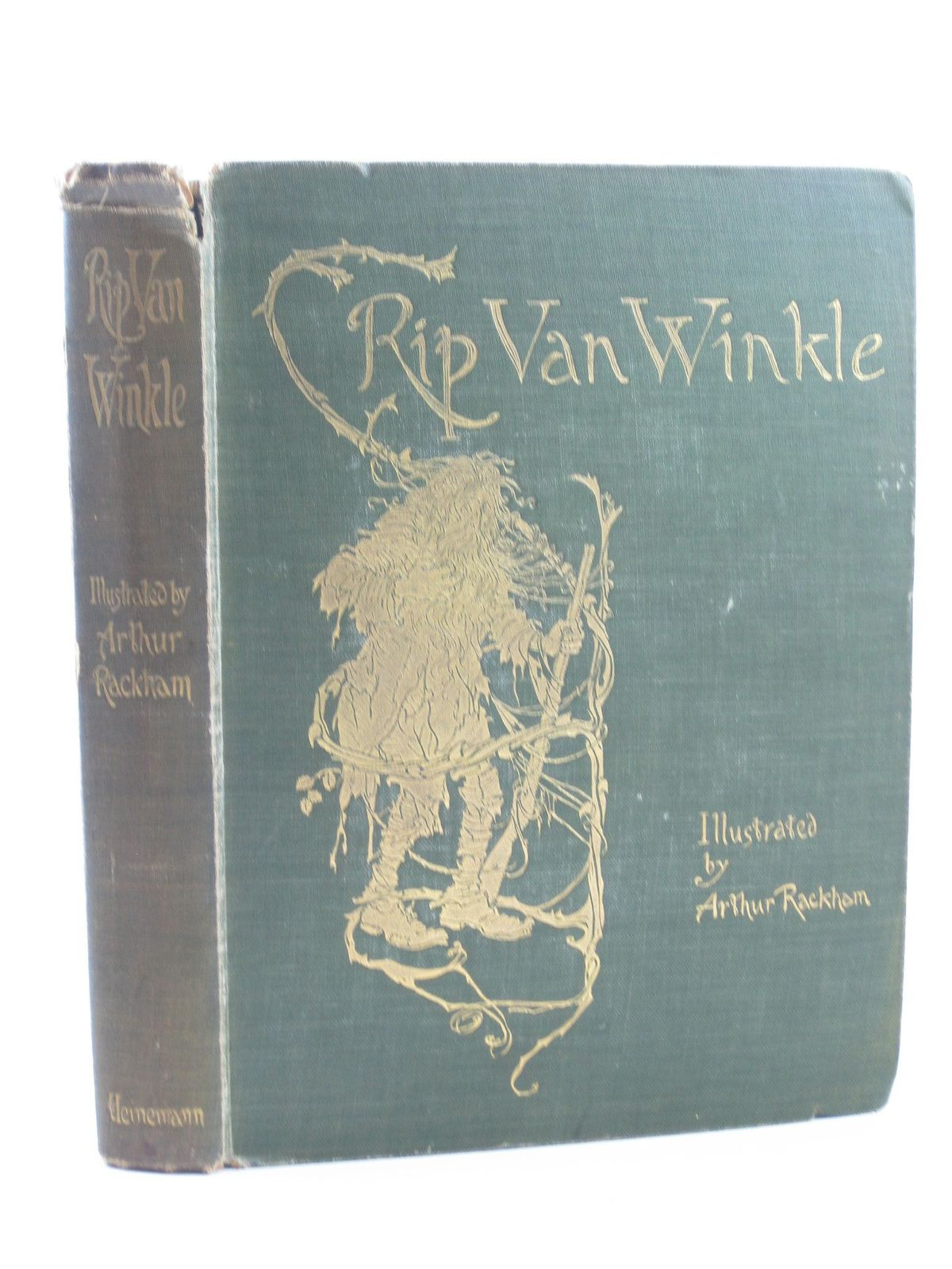 Photo of RIP VAN WINKLE written by Irving, Washington illustrated by Rackham, Arthur published by William Heinemann (STOCK CODE: 1311386)  for sale by Stella & Rose's Books