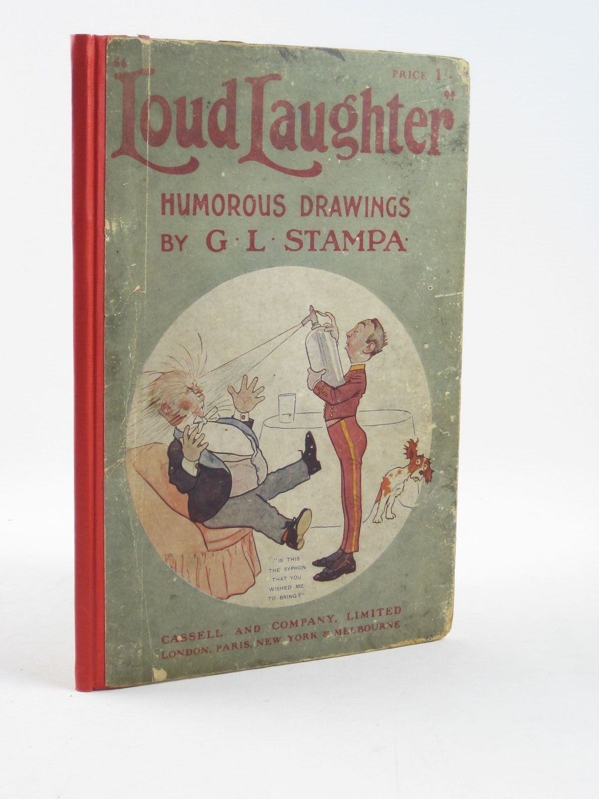 Photo of LOUD LAUGHTER written by Pegler, C. Errington illustrated by Stampa, G.L. published by Cassell & Company Limited (STOCK CODE: 1311447)  for sale by Stella & Rose's Books