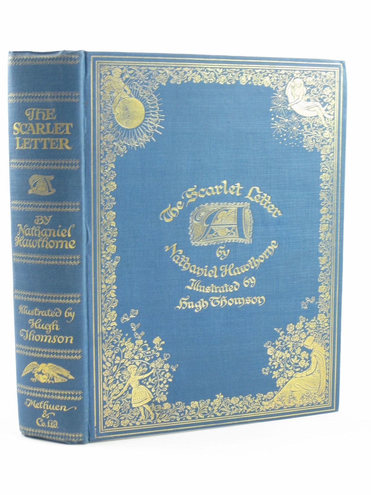 Photo of THE SCARLET LETTER written by Hawthorne, Nathaniel illustrated by Thomson, Hugh published by Methuen & Co. Ltd. (STOCK CODE: 1311460)  for sale by Stella & Rose's Books