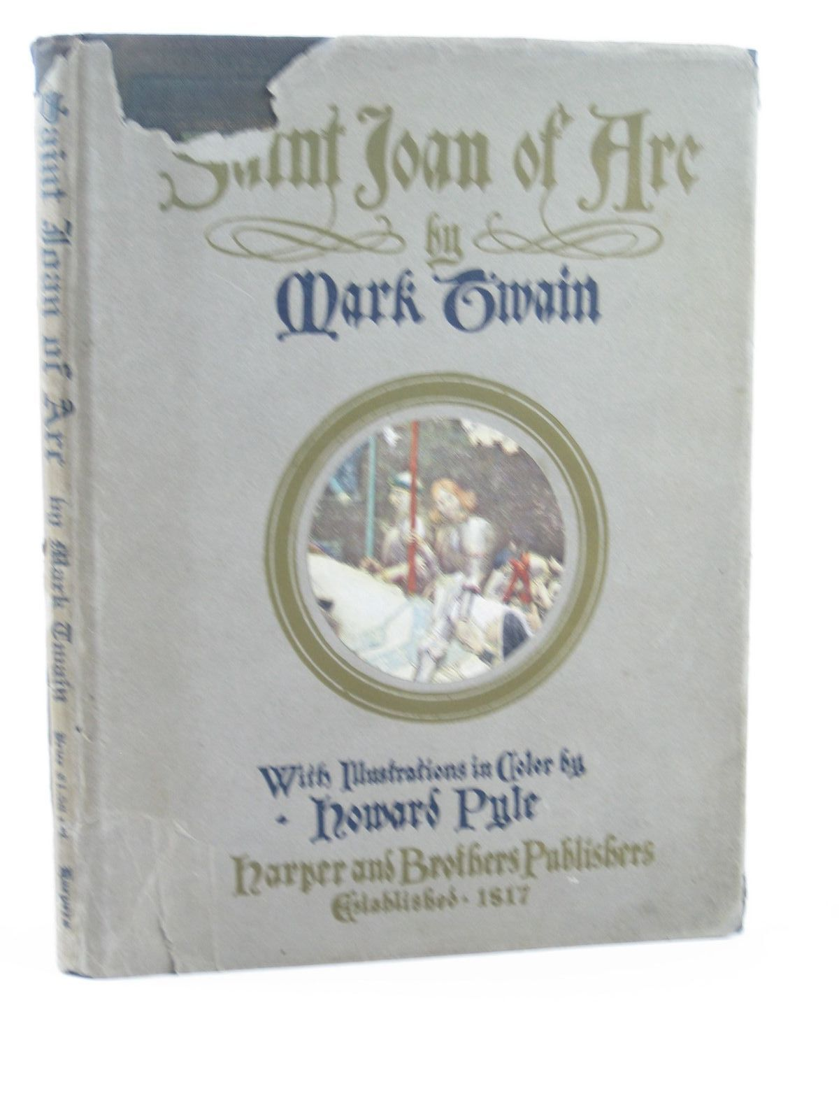 mark twain joan of arc essay Important quotes from personal recollections of joan of arc helpful for writing essays and understanding the book.