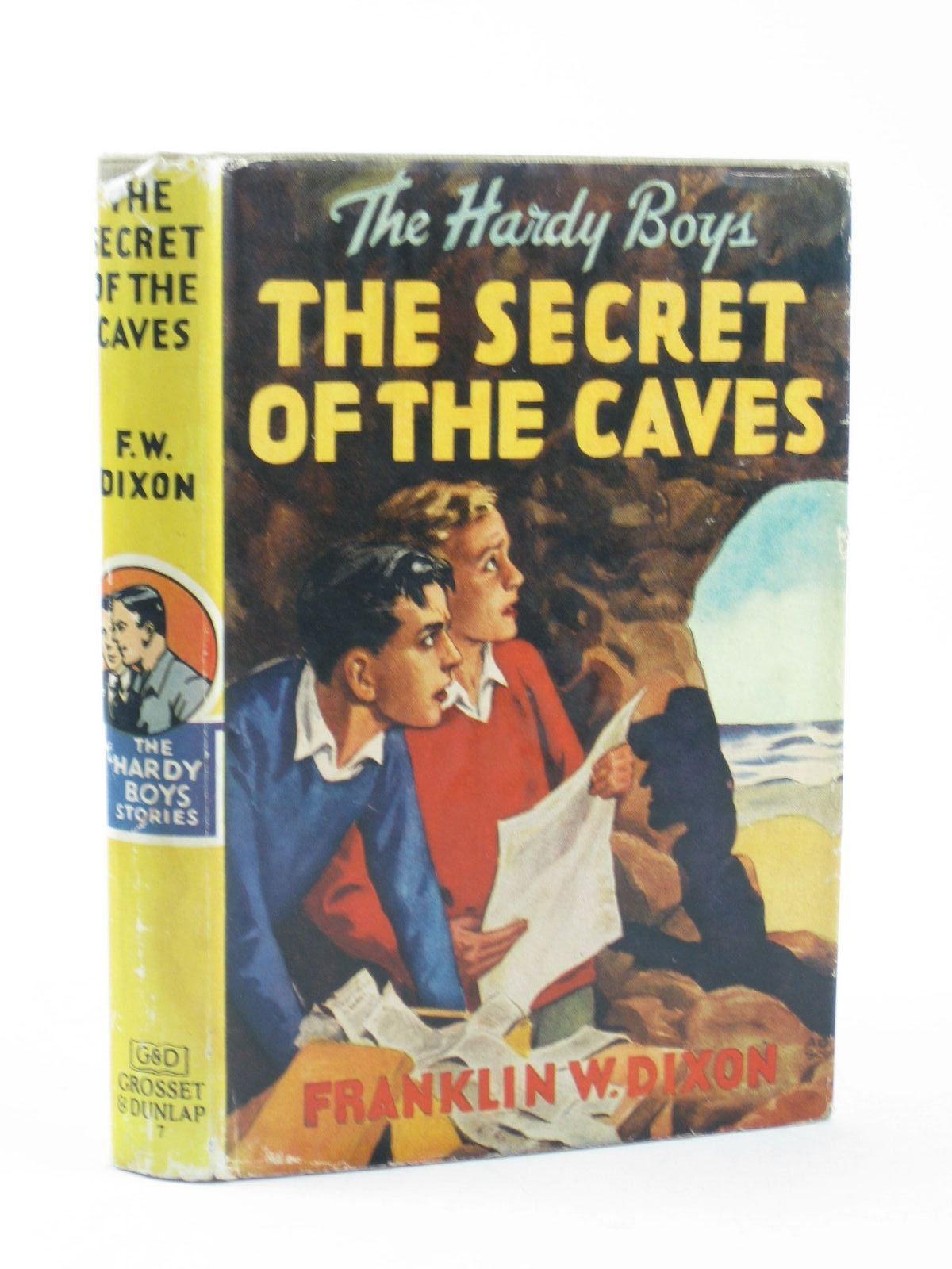 Photo of THE SECRET OF THE CAVES written by Dixon, Franklin W. published by Grosset & Dunlap (STOCK CODE: 1311503)  for sale by Stella & Rose's Books