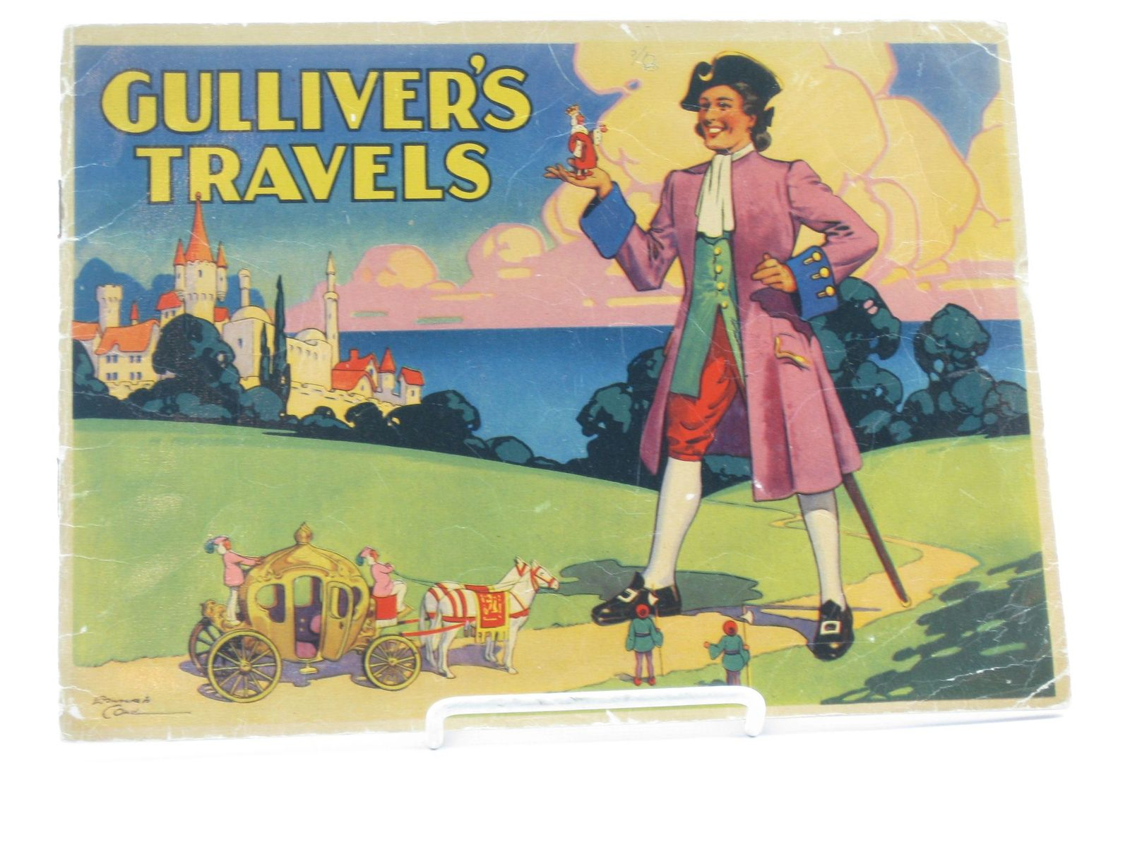 Photo of GULLIVER'S TRAVELS written by Swift, Jonathan illustrated by Cole, Edward published by Holborn Series (STOCK CODE: 1311566)  for sale by Stella & Rose's Books