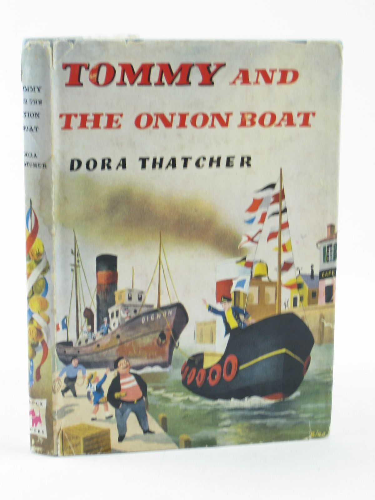 Photo of TOMMY AND THE ONION BOAT written by Thatcher, Dora illustrated by Biro,  published by Brockhampton Press (STOCK CODE: 1311645)  for sale by Stella & Rose's Books
