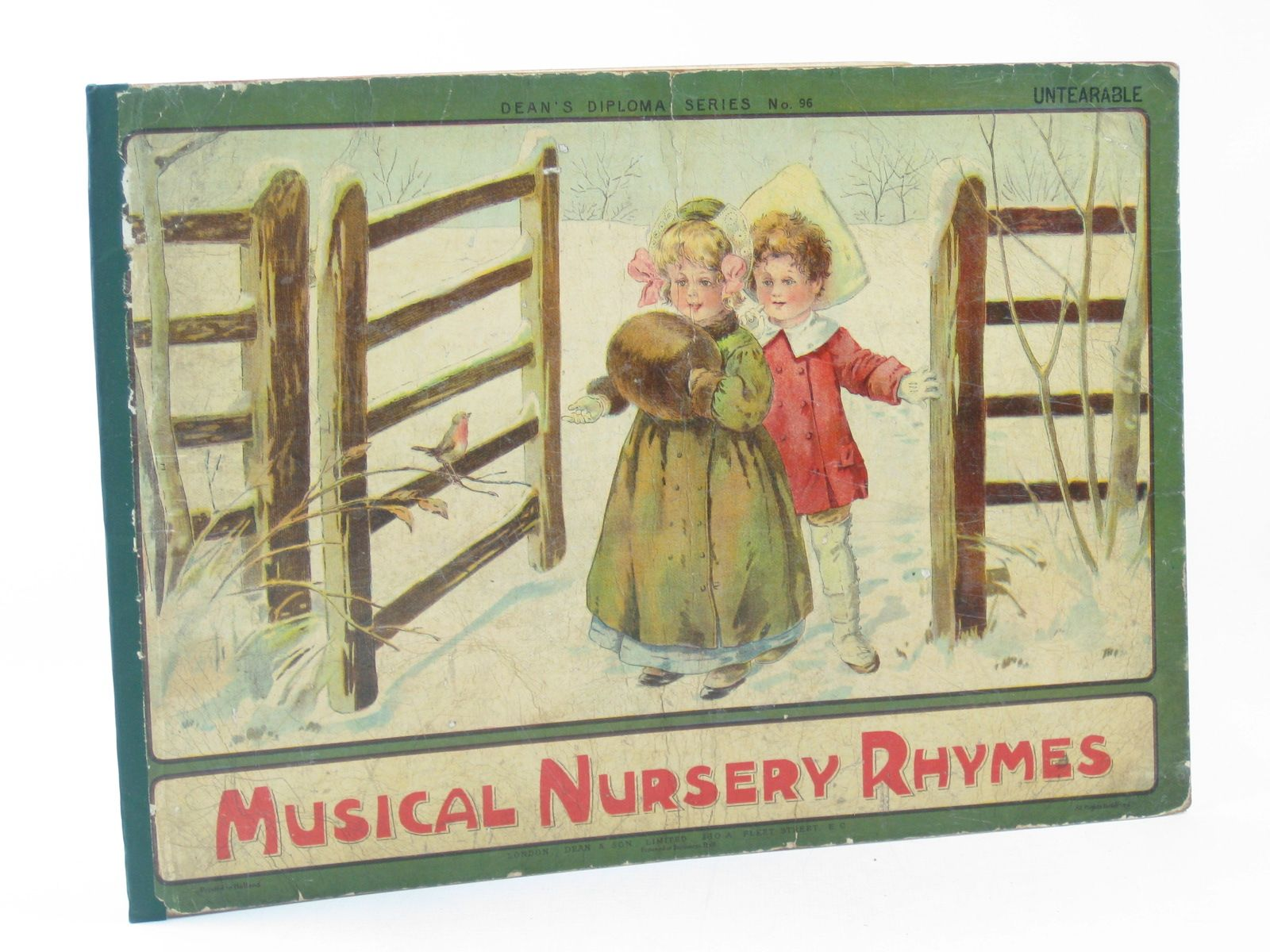 Photo of MUSICAL NURSERY RHYMES published by Dean & Son Ltd. (STOCK CODE: 1311696)  for sale by Stella & Rose's Books