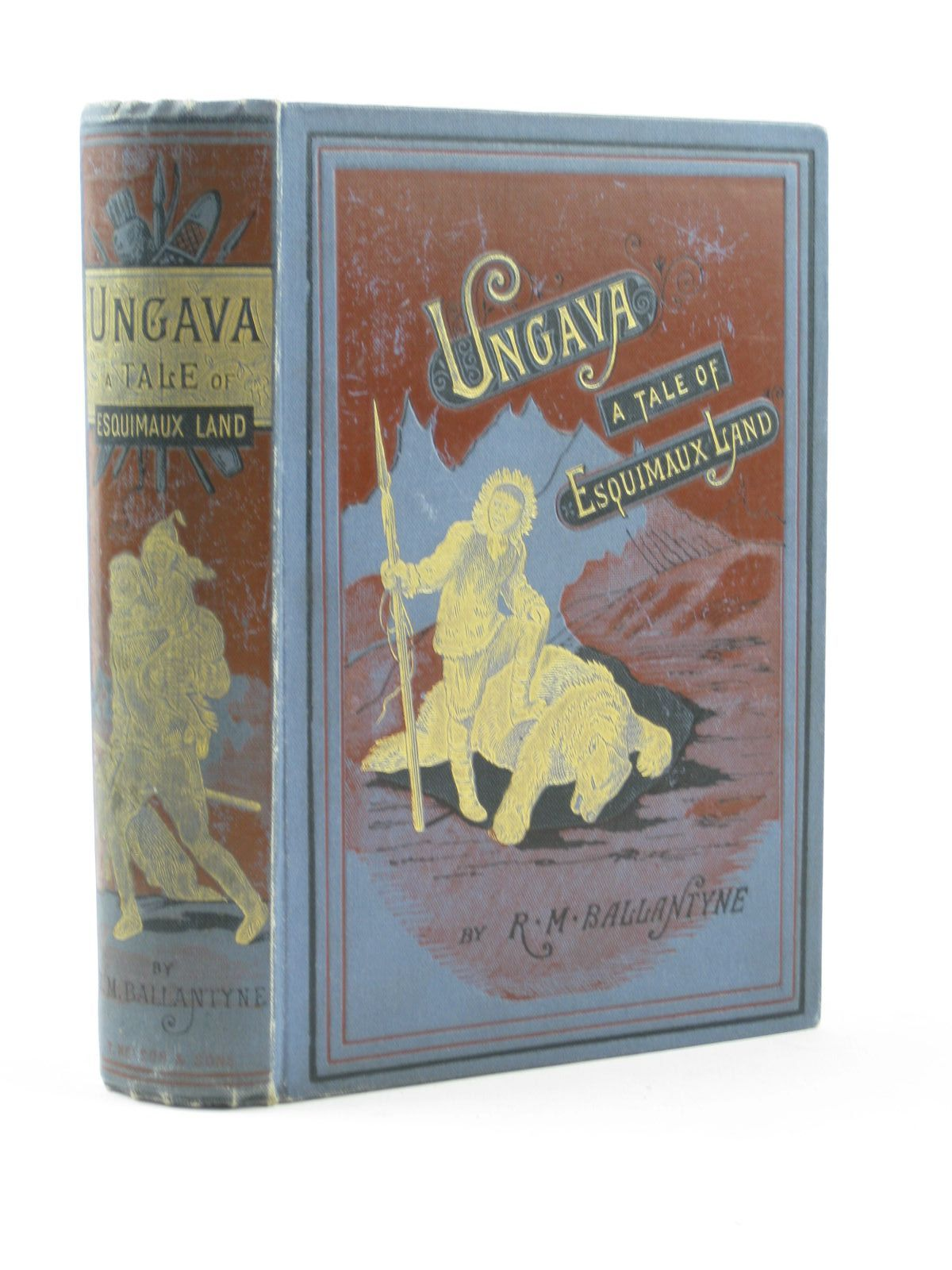 Photo of UNGAVA written by Ballantyne, R.M. illustrated by Ballantyne, R.M. published by T. Nelson & Sons (STOCK CODE: 1311711)  for sale by Stella & Rose's Books