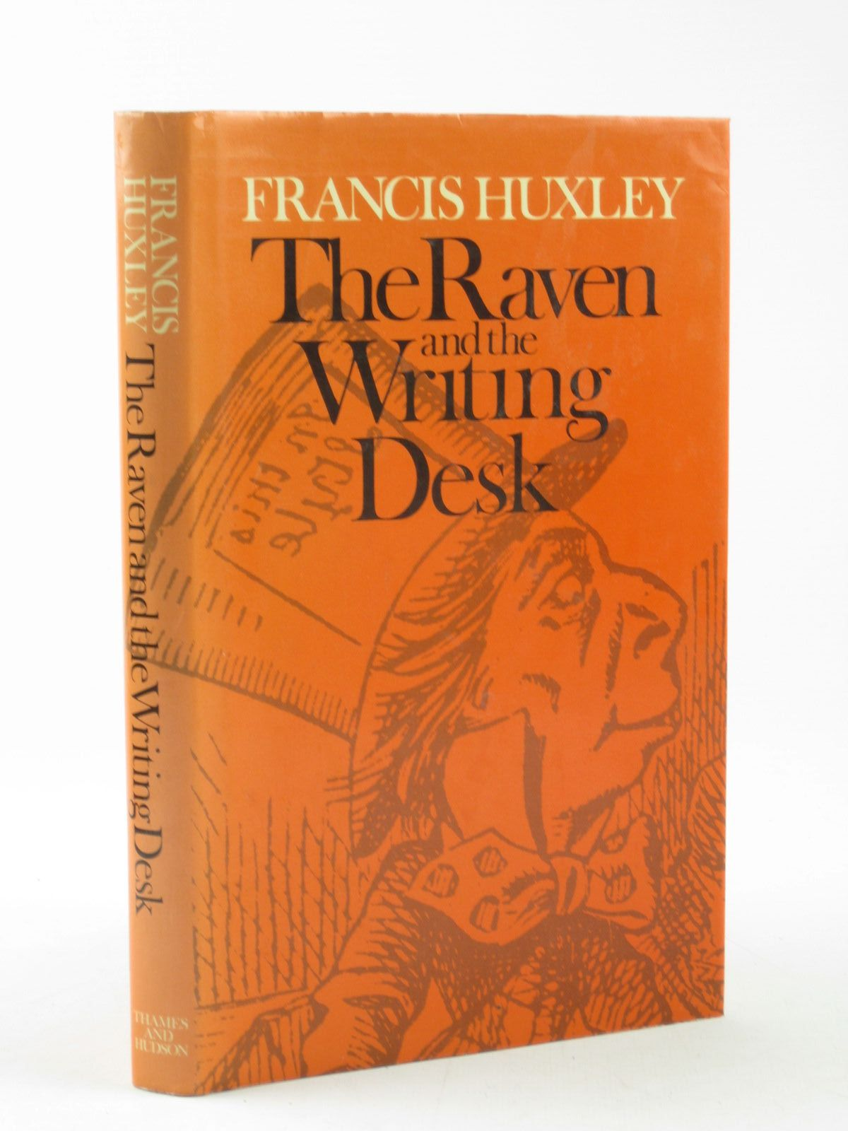 Photo of THE RAVEN AND THE WRITING DESK written by Carroll, Lewis<br />Huxley, Francis published by Thames and Hudson (STOCK CODE: 1311722)  for sale by Stella & Rose's Books