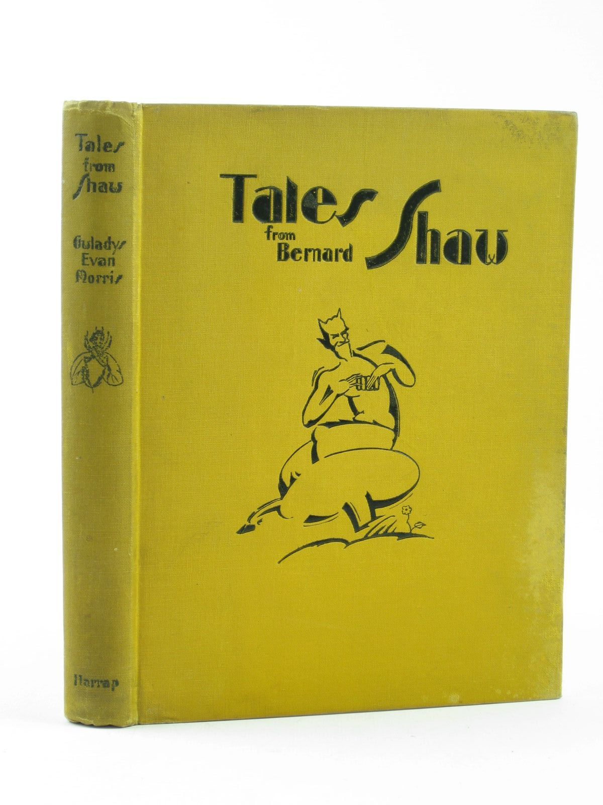 Photo of TALES FROM BERNARD SHAW TOLD IN THE JUNGLE written by Morris, Gwladys Evan illustrated by Trery, Phyllis A. published by George G. Harrap & Co. Ltd. (STOCK CODE: 1311767)  for sale by Stella & Rose's Books