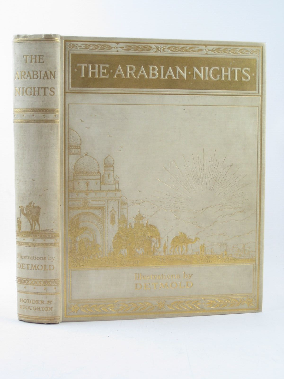 Photo of THE ARABIAN NIGHTS illustrated by Detmold, Edward J. published by Hodder & Stoughton (STOCK CODE: 1311774)  for sale by Stella & Rose's Books