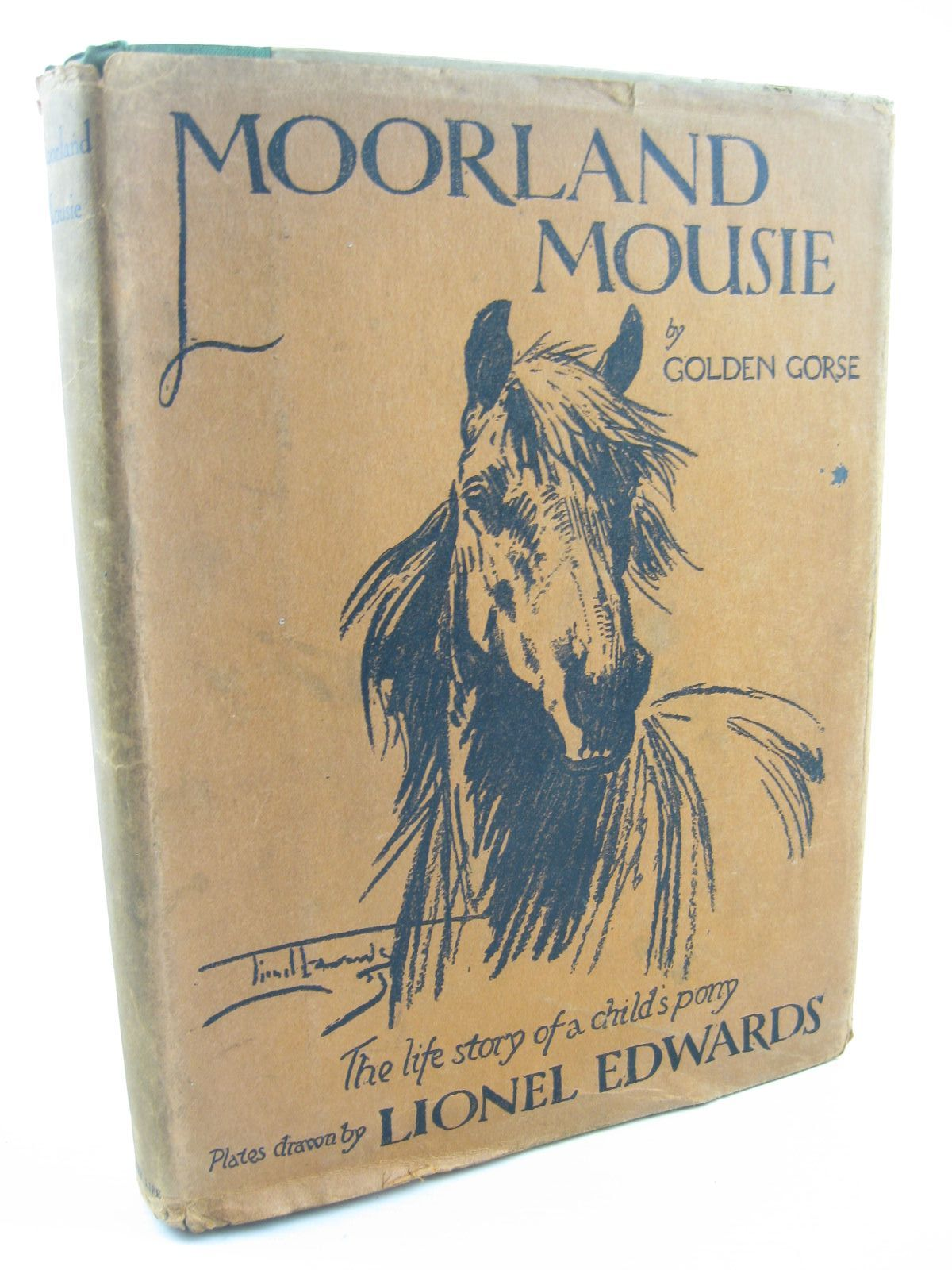 Photo of MOORLAND MOUSIE written by Golden Gorse,  illustrated by Edwards, Lionel published by Country Life Ltd. (STOCK CODE: 1311856)  for sale by Stella & Rose's Books