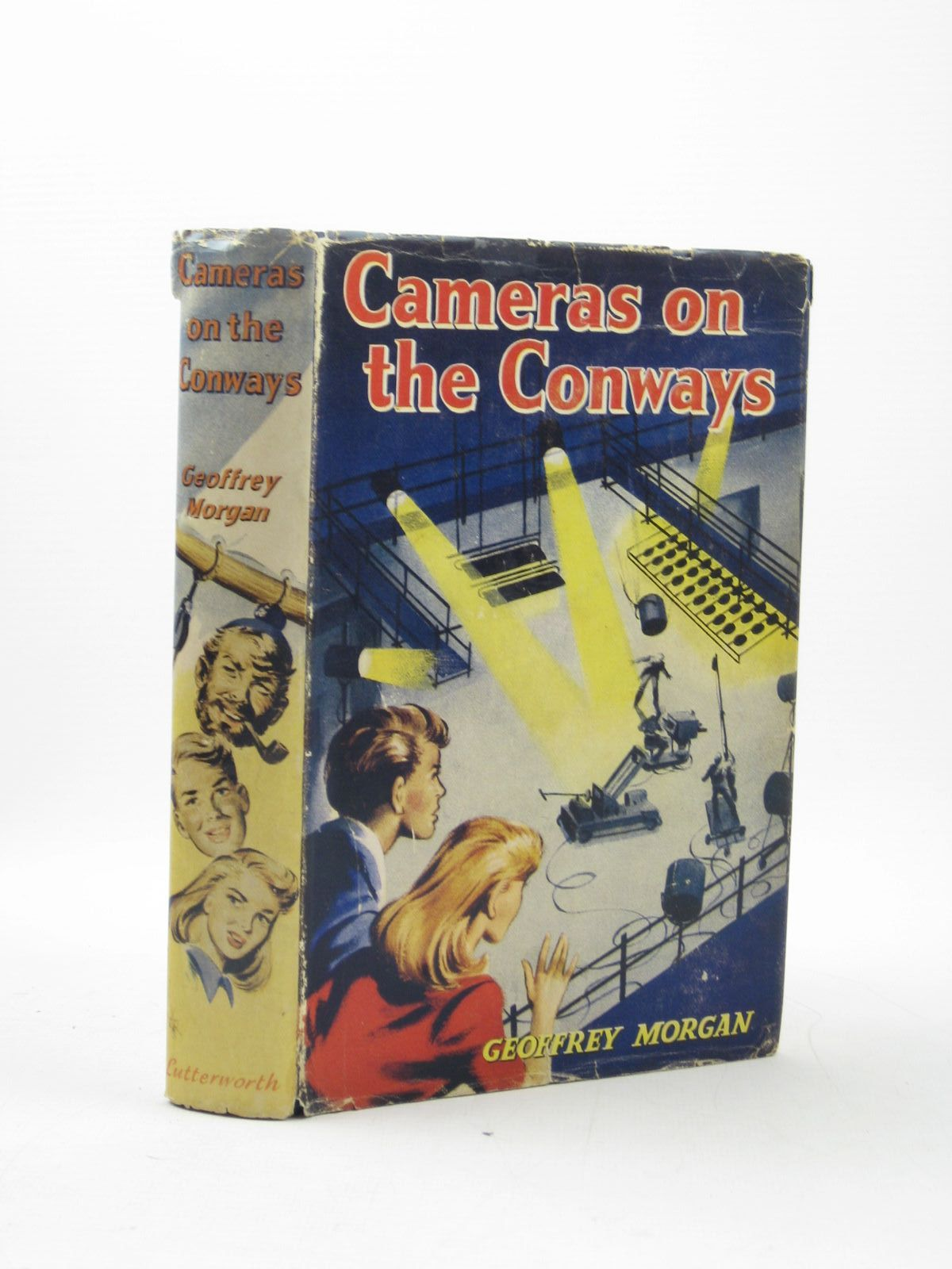 Photo of CAMERAS ON THE CONWAYS written by Morgan, Geoffrey illustrated by Kay, Peter published by Lutterworth Press (STOCK CODE: 1311893)  for sale by Stella & Rose's Books