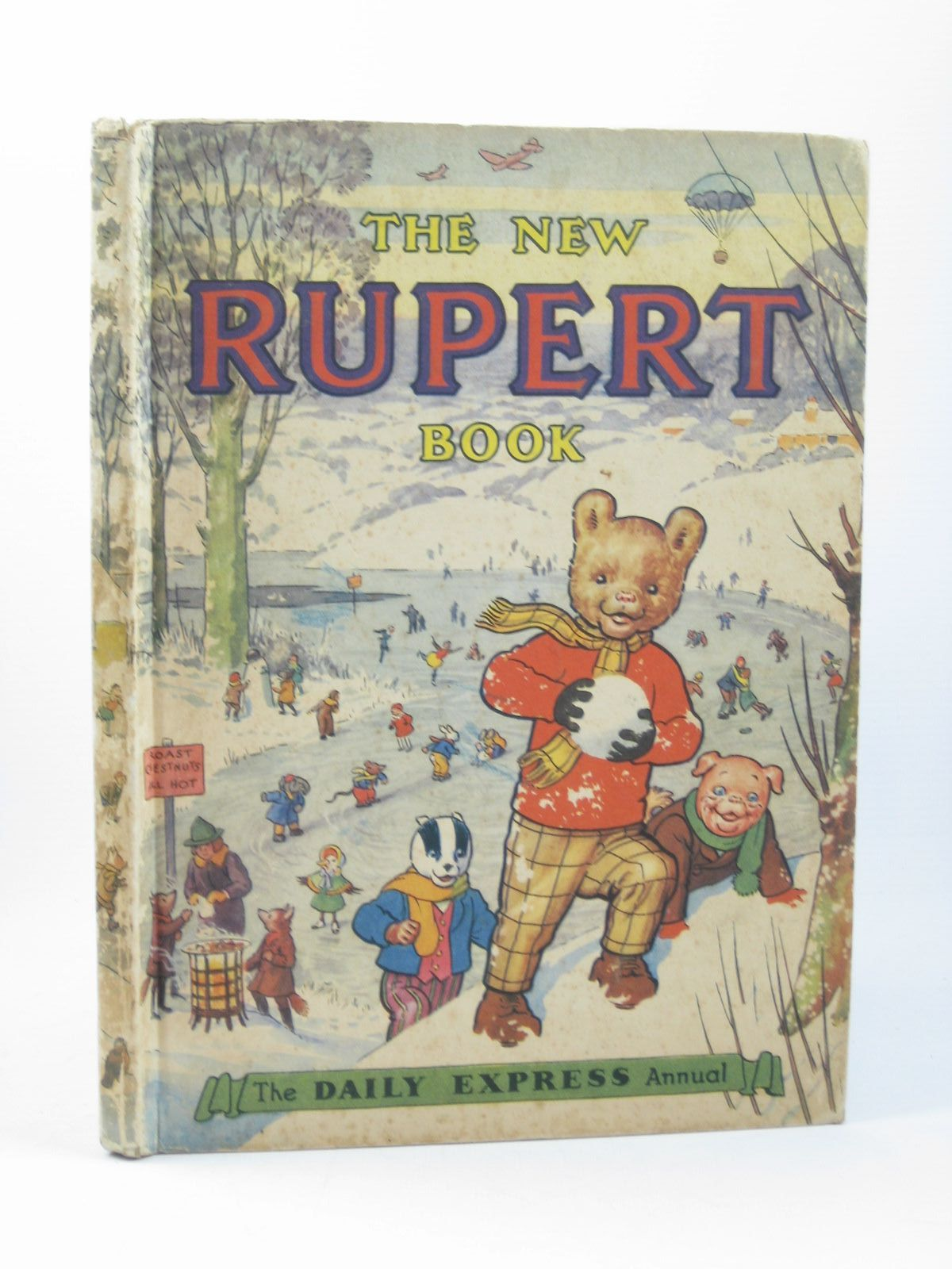 Photo of RUPERT ANNUAL 1951 - THE NEW RUPERT BOOK written by Bestall, Alfred illustrated by Bestall, Alfred published by Daily Express (STOCK CODE: 1311908)  for sale by Stella & Rose's Books