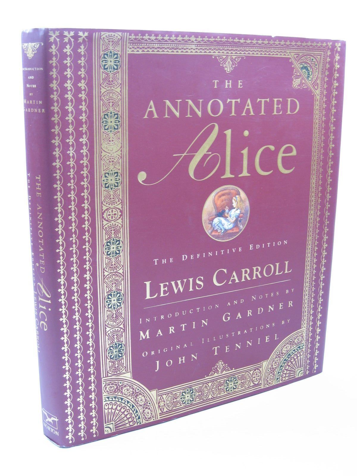 Photo of THE ANNOTATED ALICE - THE DEFINITIVE EDITION written by Carroll, Lewis<br />Gardner, Martin illustrated by Tenniel, John published by W.W. Norton & Company Inc. (STOCK CODE: 1312028)  for sale by Stella & Rose's Books