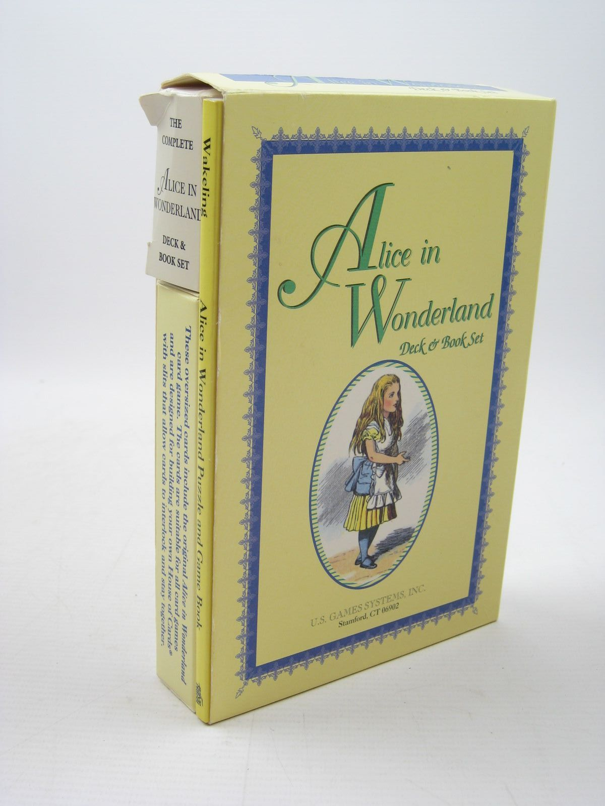 Photo of ALICE IN WONDERLAND DECK & BOOK SET written by Wakeling, Edward illustrated by Tenniel, John published by U.S. Games Systems (STOCK CODE: 1312035)  for sale by Stella & Rose's Books