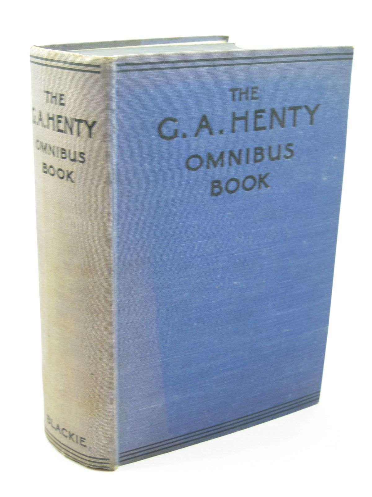 Photo of THE G.A. HENTY OMNIBUS BOOK