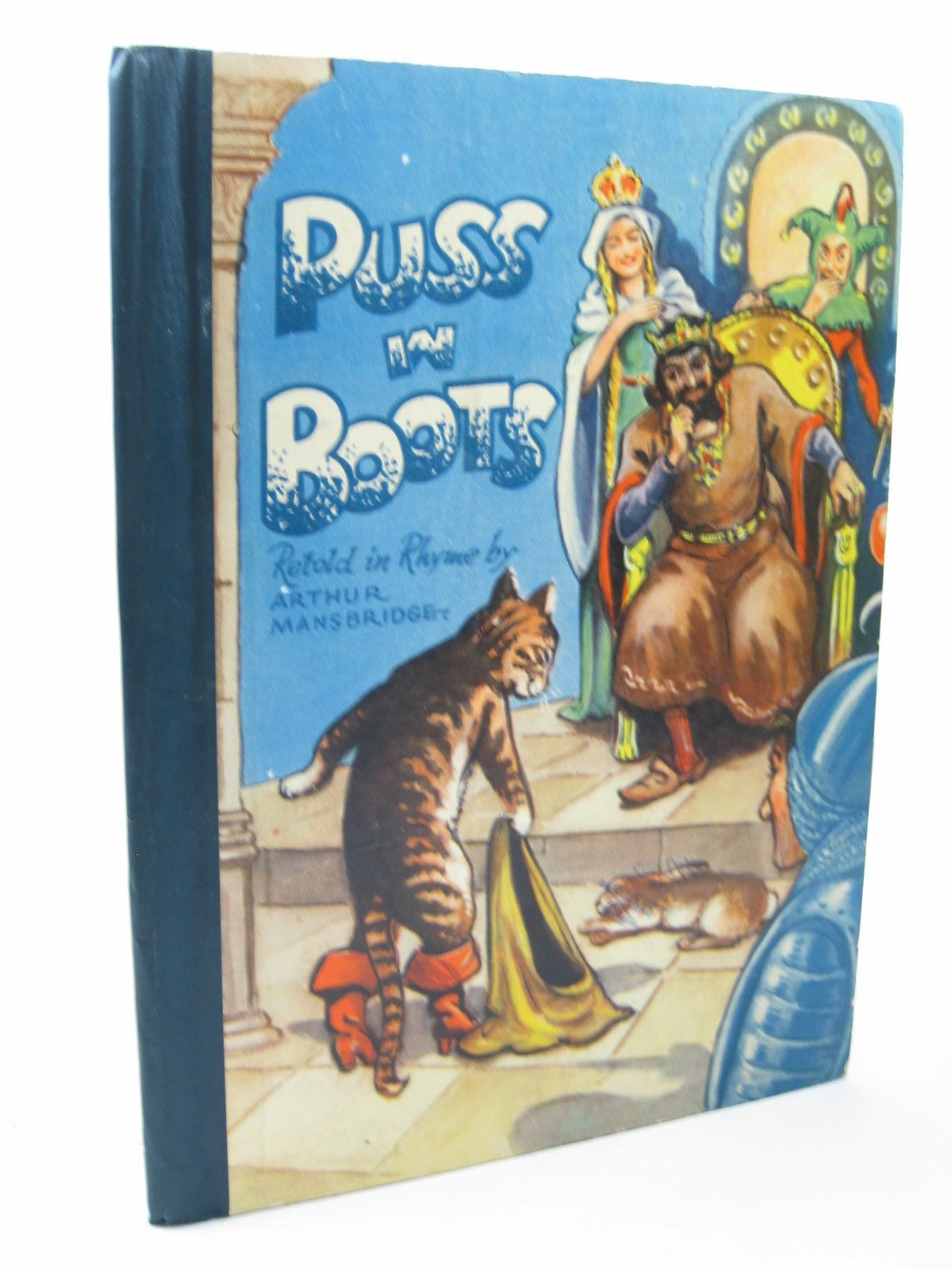 Photo of PUSS IN BOOTS written by Mansbridge, Arthur published by Renwick of Otley (STOCK CODE: 1312072)  for sale by Stella & Rose's Books