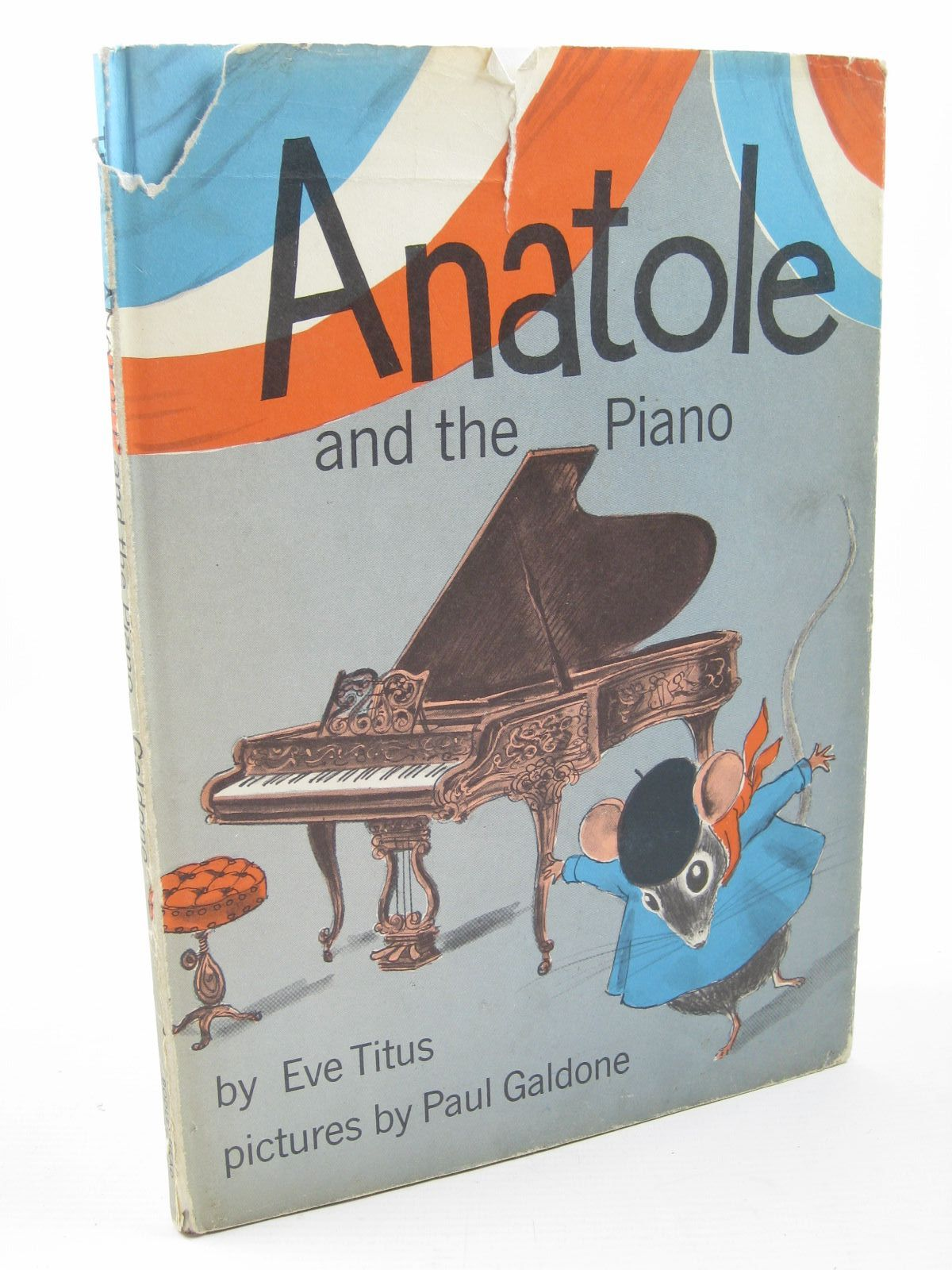 Photo of ANATOLE AND THE PIANO written by Titus, Eve illustrated by Galdone, Paul published by The Bodley Head (STOCK CODE: 1312079)  for sale by Stella & Rose's Books