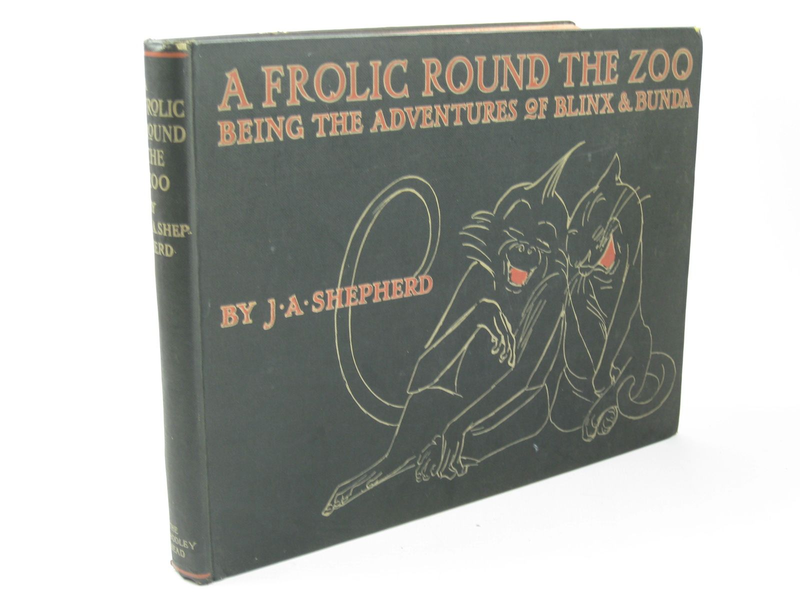 Photo of A FROLIC ROUND THE ZOO BEING THE ADVENTURES OF BLINX AND BUNDA written by Shepherd, J.A. illustrated by Shepherd, J.A. published by John Lane The Bodley Head (STOCK CODE: 1312181)  for sale by Stella & Rose's Books