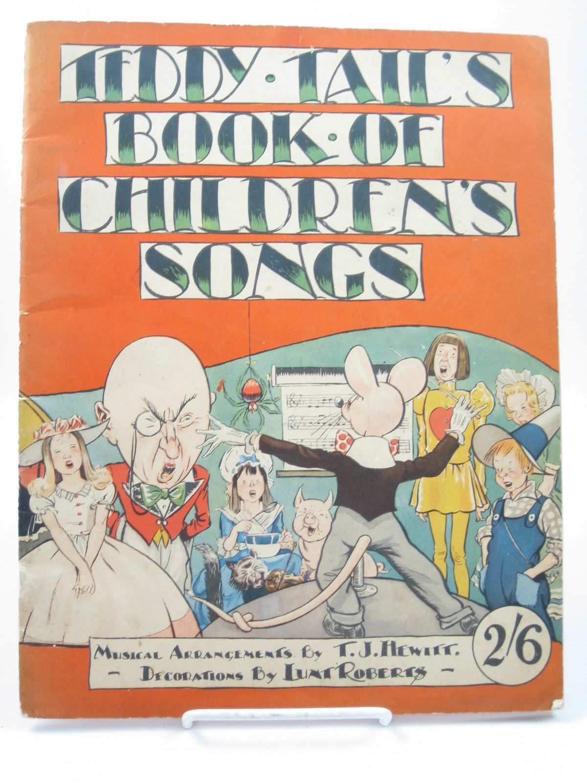 Photo of TEDDY TAIL'S BOOK OF CHILDREN'S SONGS written by Hewitt, T.J. illustrated by Roberts, Lunt published by Ken Publications (STOCK CODE: 1312188)  for sale by Stella & Rose's Books