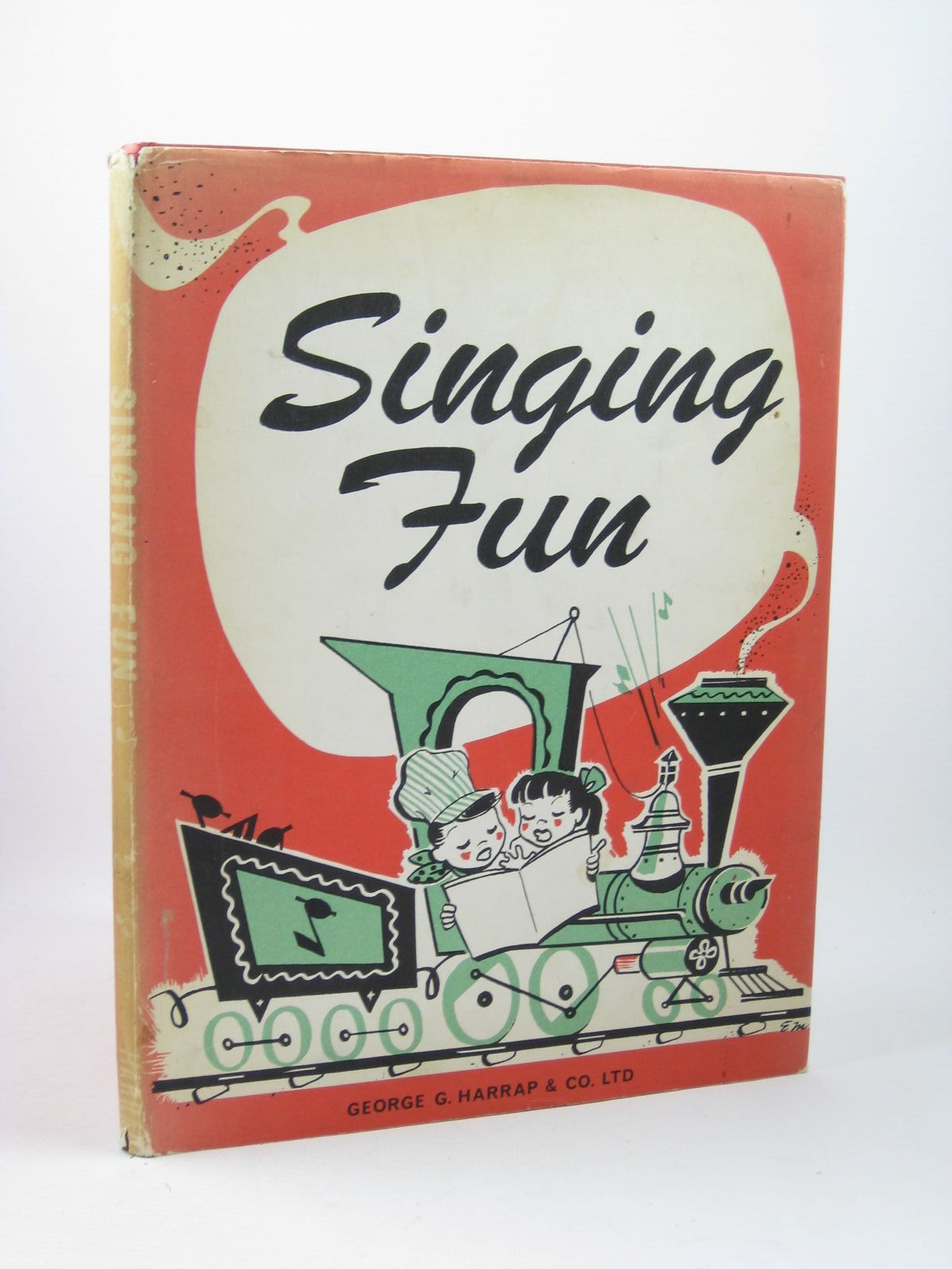 Photo of SINGING FUN written by Wood, Lucille F.<br />Scott, Louise B. published by Harrap (STOCK CODE: 1312233)  for sale by Stella & Rose's Books