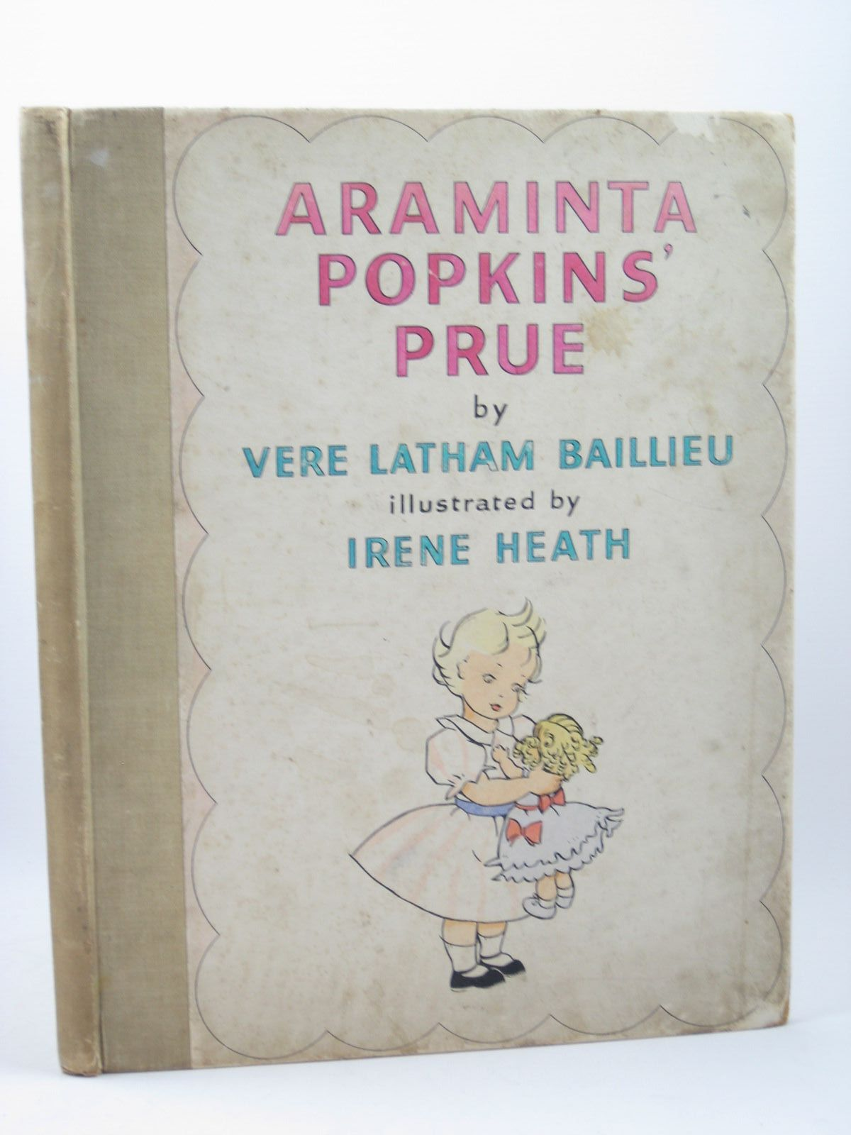 Photo of ARAMINTA POPKINS' PRUE written by Baillieu, Vere Latham illustrated by Heath, Irene published by Heath Cranton Limited (STOCK CODE: 1312254)  for sale by Stella & Rose's Books