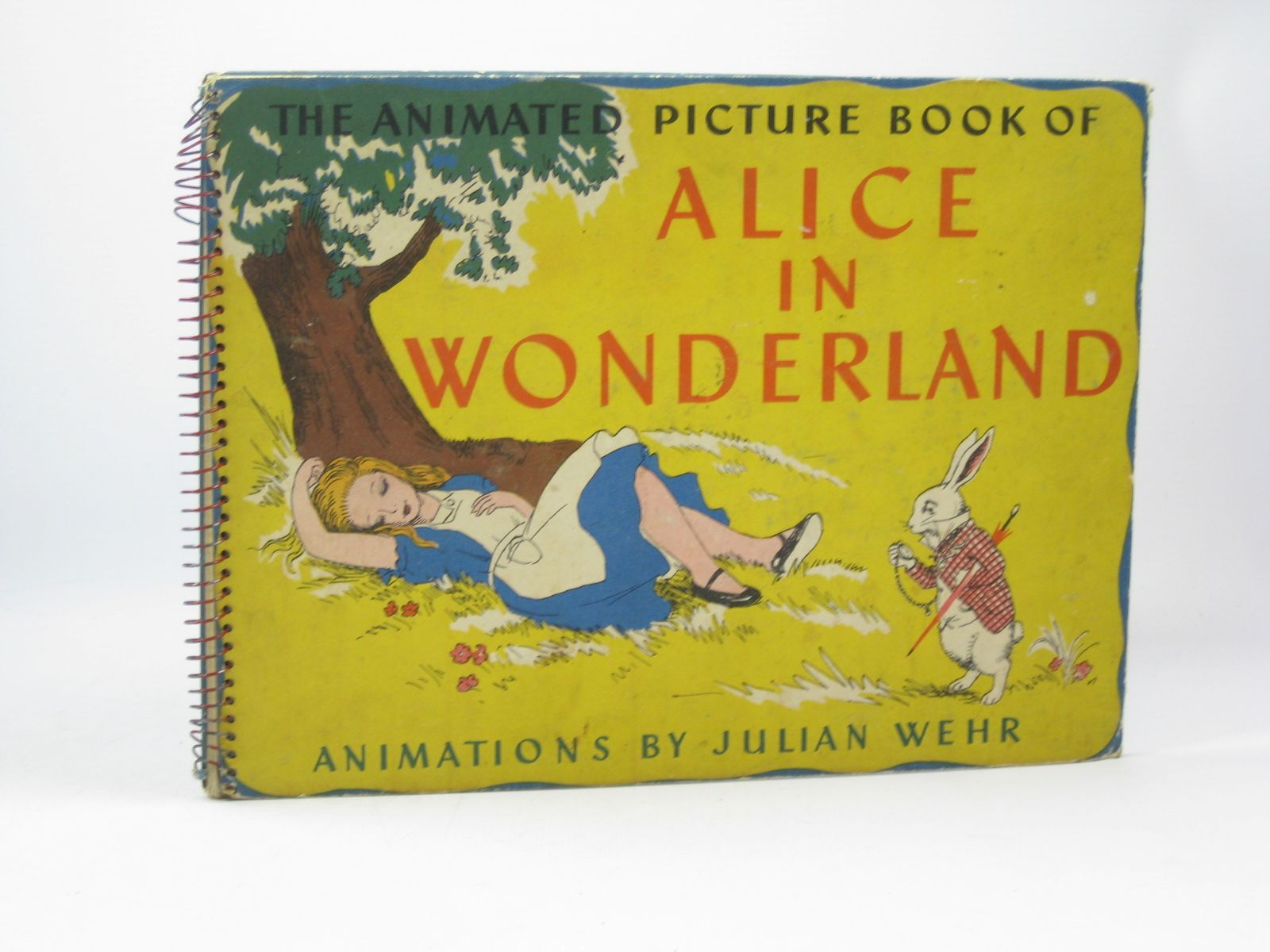 Photo of THE ANIMATED PICTURE BOOK OF ALICE IN WONDERLAND