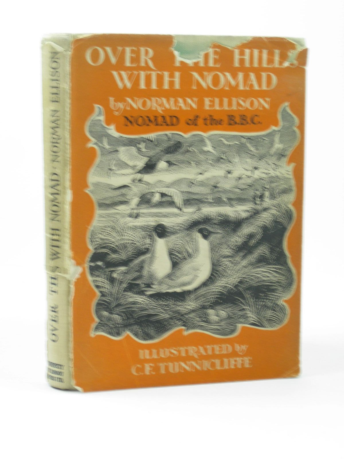 Photo of OVER THE HILLS WITH NOMAD written by Ellison, Norman illustrated by Tunnicliffe, C.F. published by University of London Press (STOCK CODE: 1312313)  for sale by Stella & Rose's Books