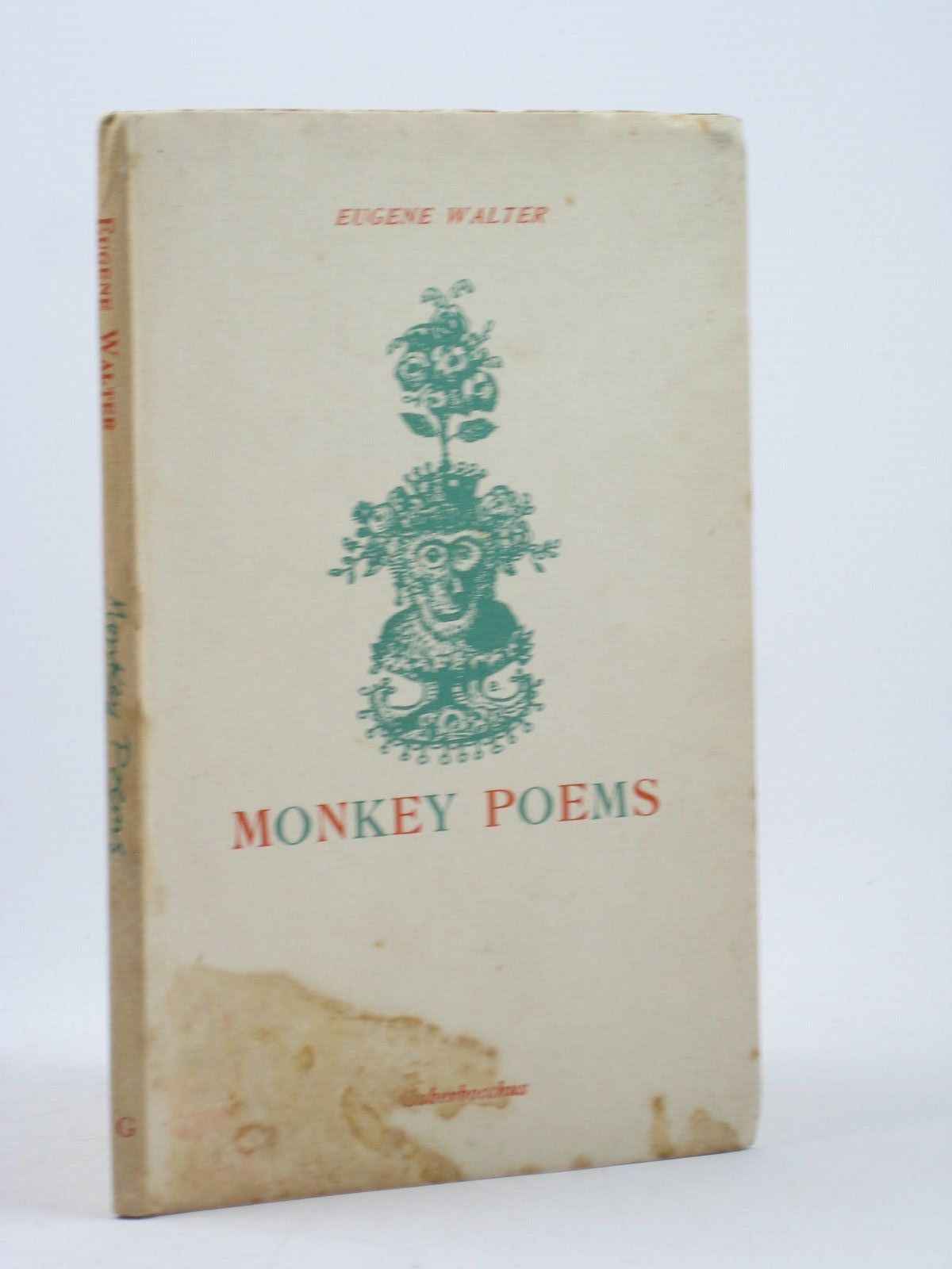 Photo of MONKEY POEMS written by Walter, Eugene published by Gaberbocchus Press (STOCK CODE: 1312405)  for sale by Stella & Rose's Books