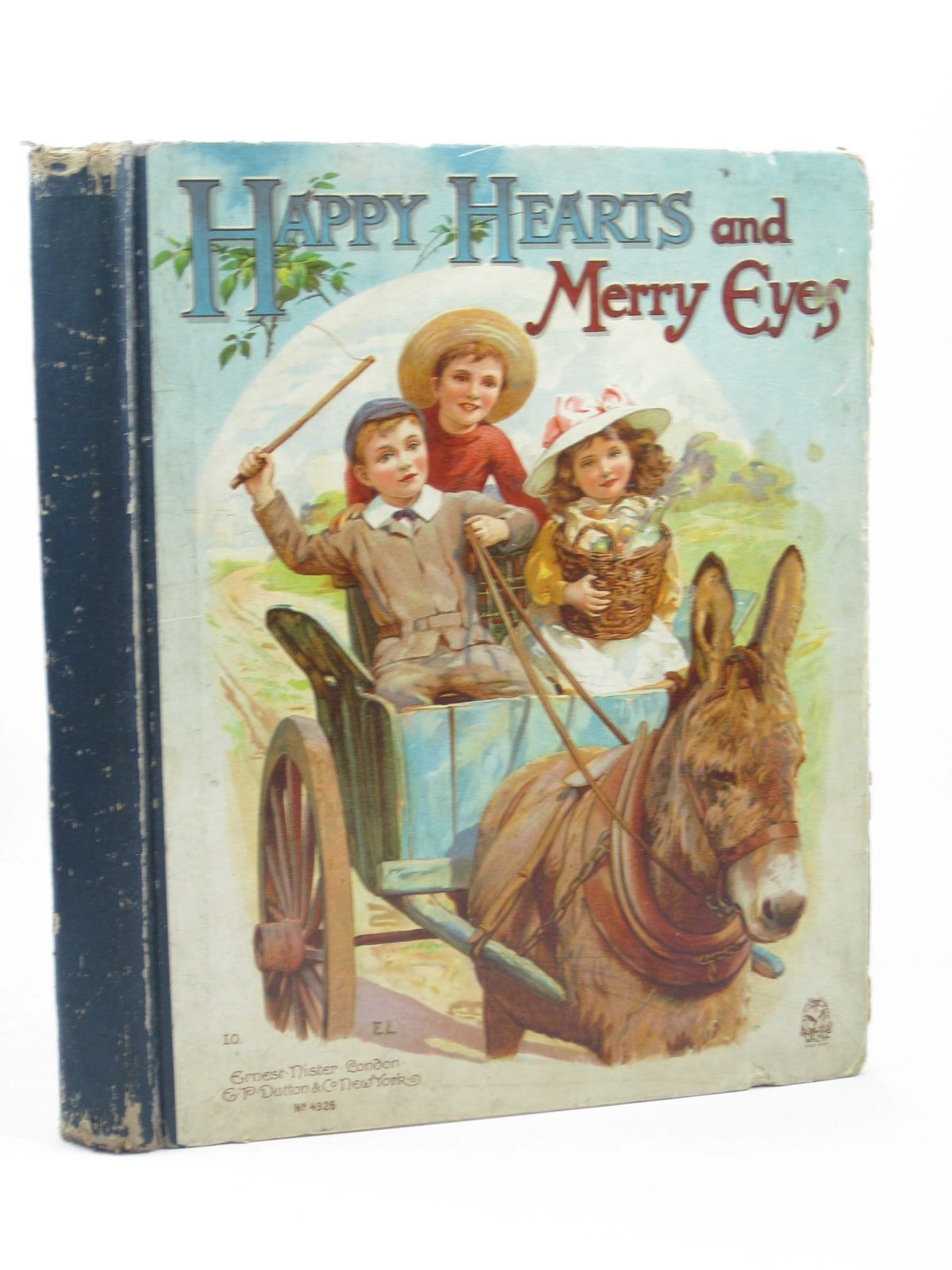 Photo of HAPPY HEARTS AND MERRY EYES written by Meade, L.T.<br />Everett-Green, Evelyn<br />Weedon, L.L.<br />et al, illustrated by Wain, Louis<br />Foster, W.<br />Robinson, Gordon<br />et al., published by Ernest Nister, E.P. Dutton & Co. (STOCK CODE: 1312407)  for sale by Stella & Rose's Books