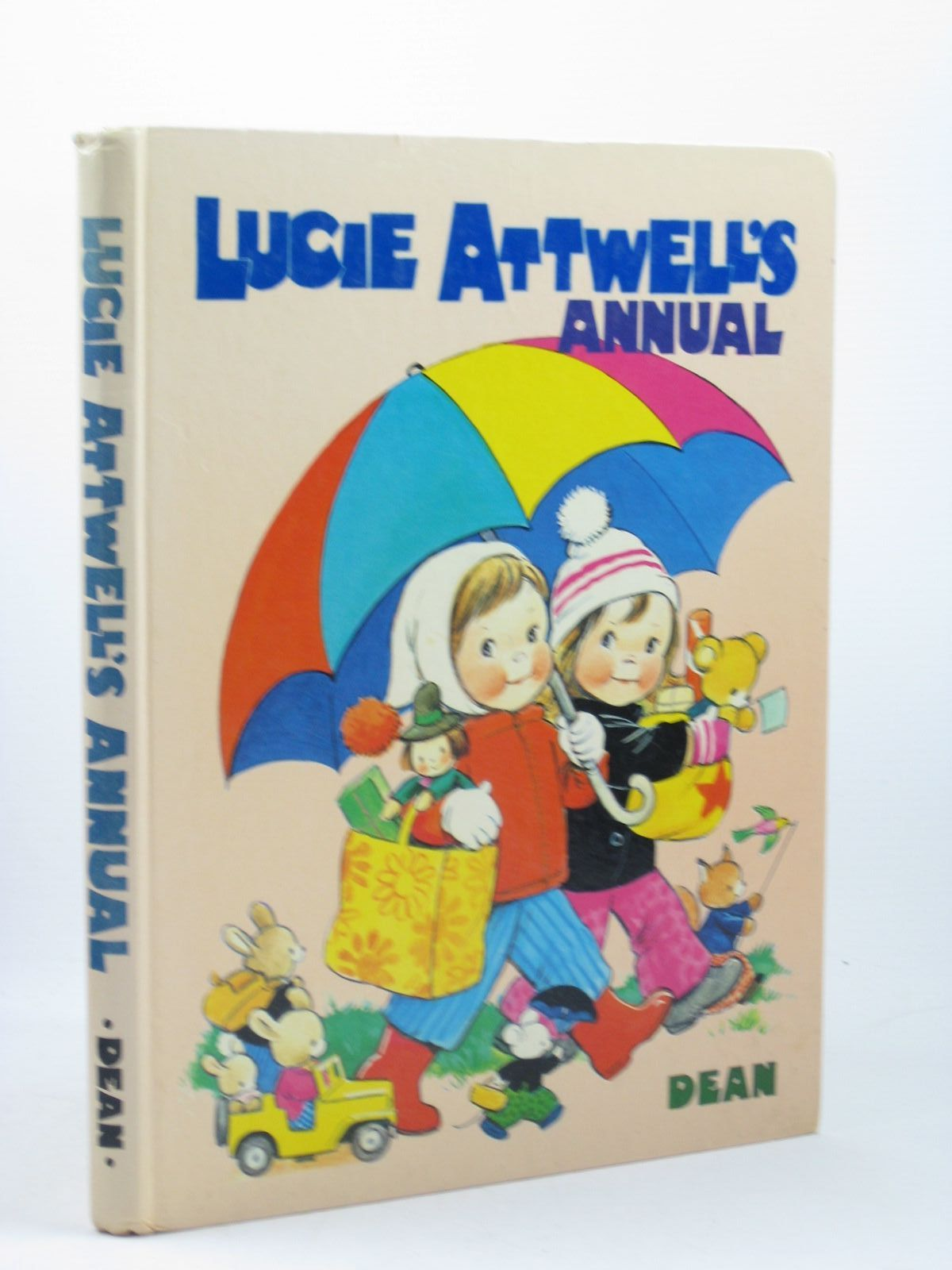 Photo of LUCIE ATTWELL'S ANNUAL 1972 written by Attwell, Mabel Lucie illustrated by Attwell, Mabel Lucie published by Dean & Son Ltd. (STOCK CODE: 1312419)  for sale by Stella & Rose's Books