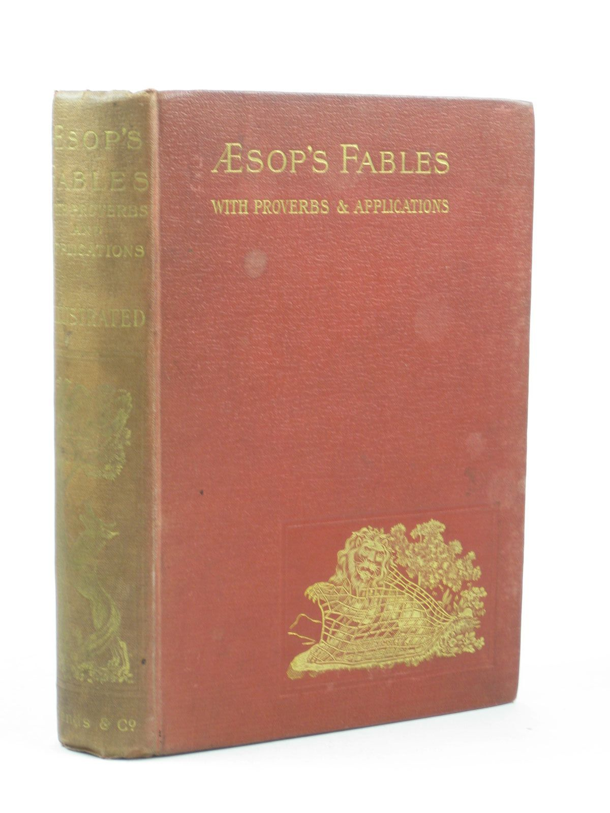 Photo of AESOP'S FABLES written by Aesop, published by Bliss, Sands & Co. (STOCK CODE: 1312425)  for sale by Stella & Rose's Books