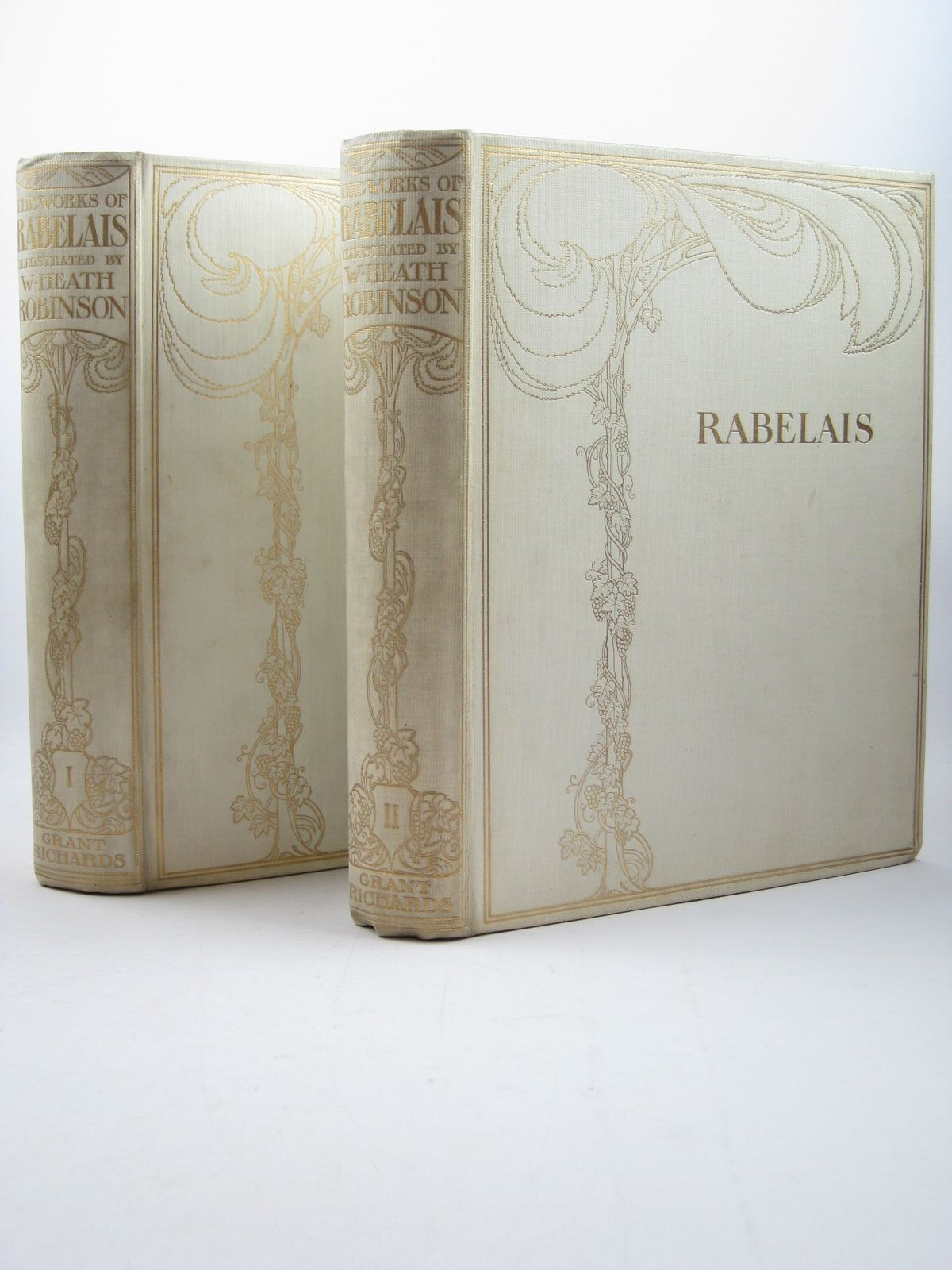 Photo of THE WORKS OF MR. FRANCIS RABELAIS written by Rabelais, Francois illustrated by Robinson, W. Heath published by Grant Richards (STOCK CODE: 1312580)  for sale by Stella & Rose's Books